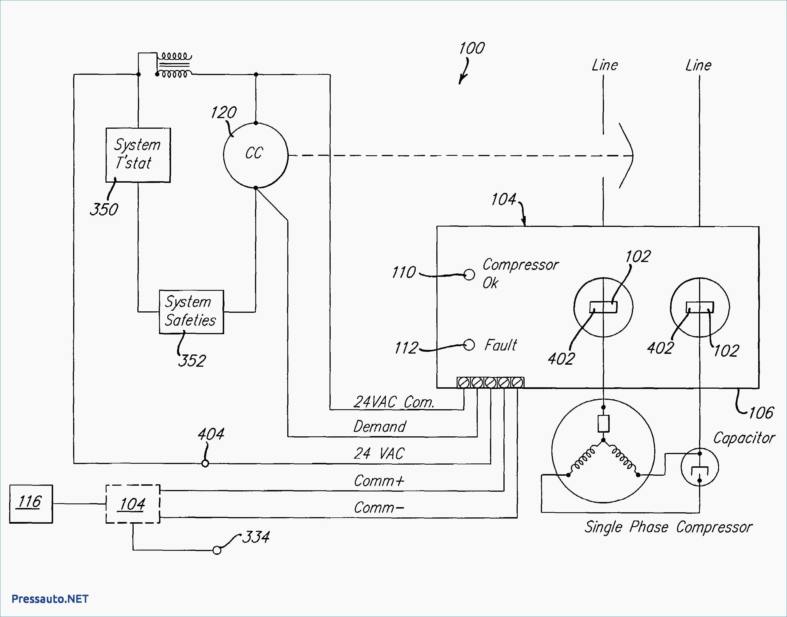 Hvac Condenser Wiring Diagram Inspirationa 3 Wire Condenser Fan Motor Wiring Diagram Lovely Fantastic Ac Inside