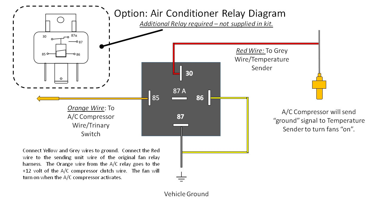 Simple Relay Switch Wiring Diagram At Hvac Fan With