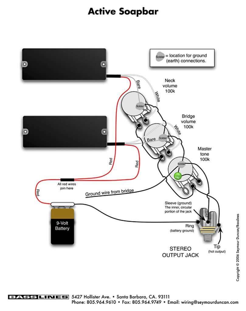 Fender Jazz Wiring Diagram