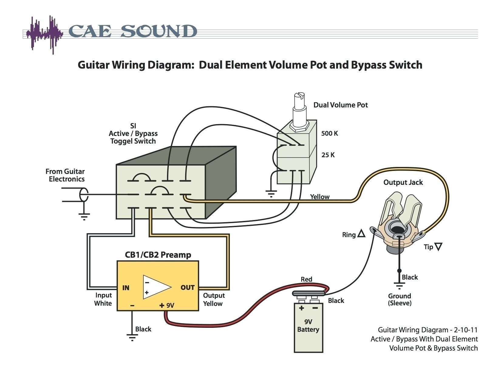 Active Guitar Wiring Diagram New Wiring Diagram for Jazz Bass Pickups New Fender Jazz Bass Wiring