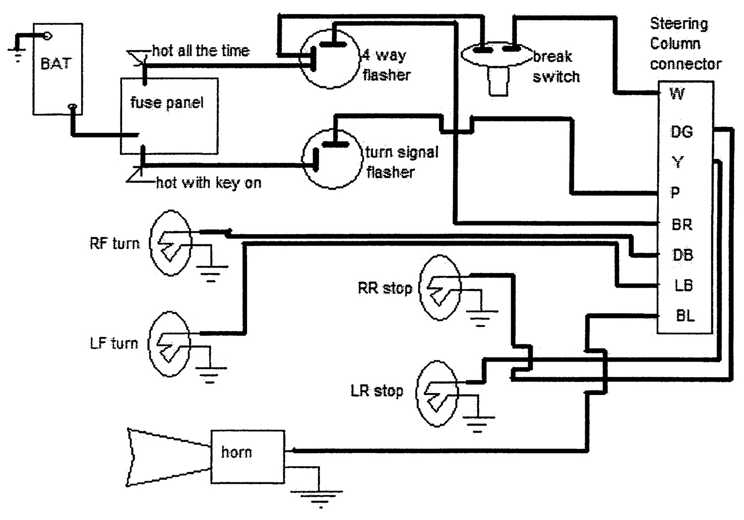Turn Signal Schematic | Wiring Liry on wall switch diagram, switch starter diagram, switch battery diagram, switch socket diagram, switch outlets diagram, switch circuit diagram, electrical outlets diagram, switch lights, relay switch diagram, 3-way switch diagram, network switch diagram, rocker switch diagram,