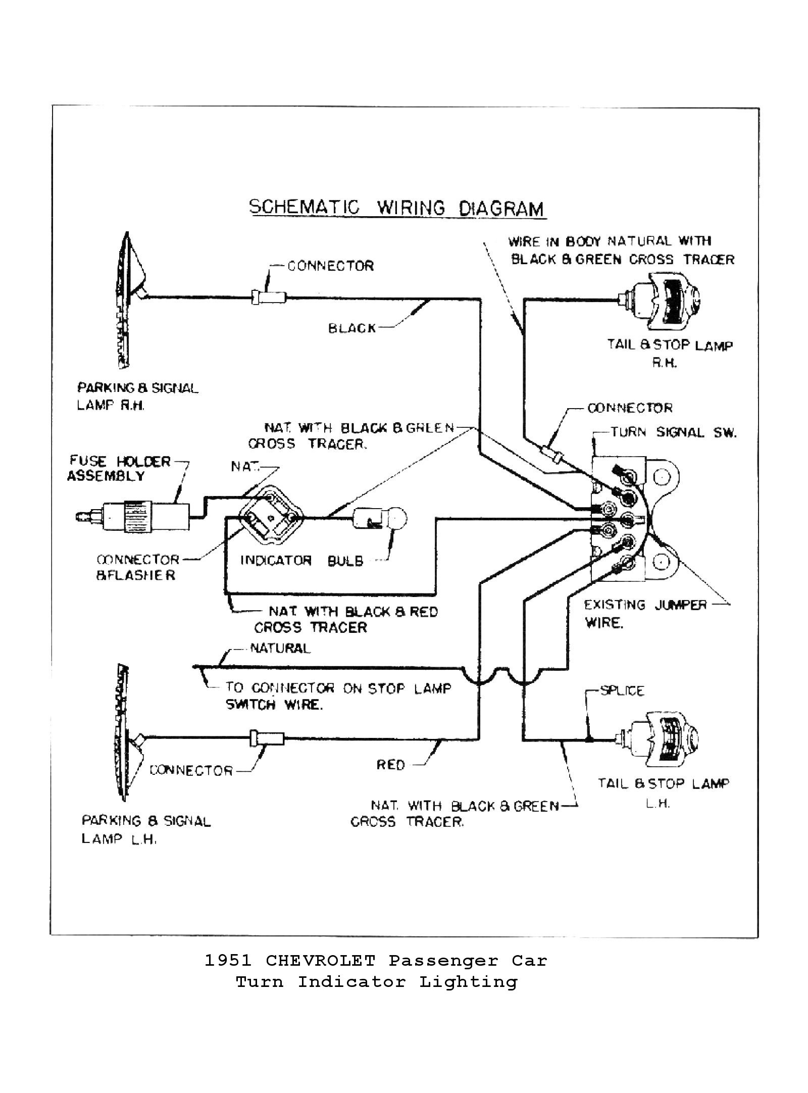Aftermarket Turn Signal Wiring Diagram Simple Options For Stat 700 Switch Image Lights 1951 Truck