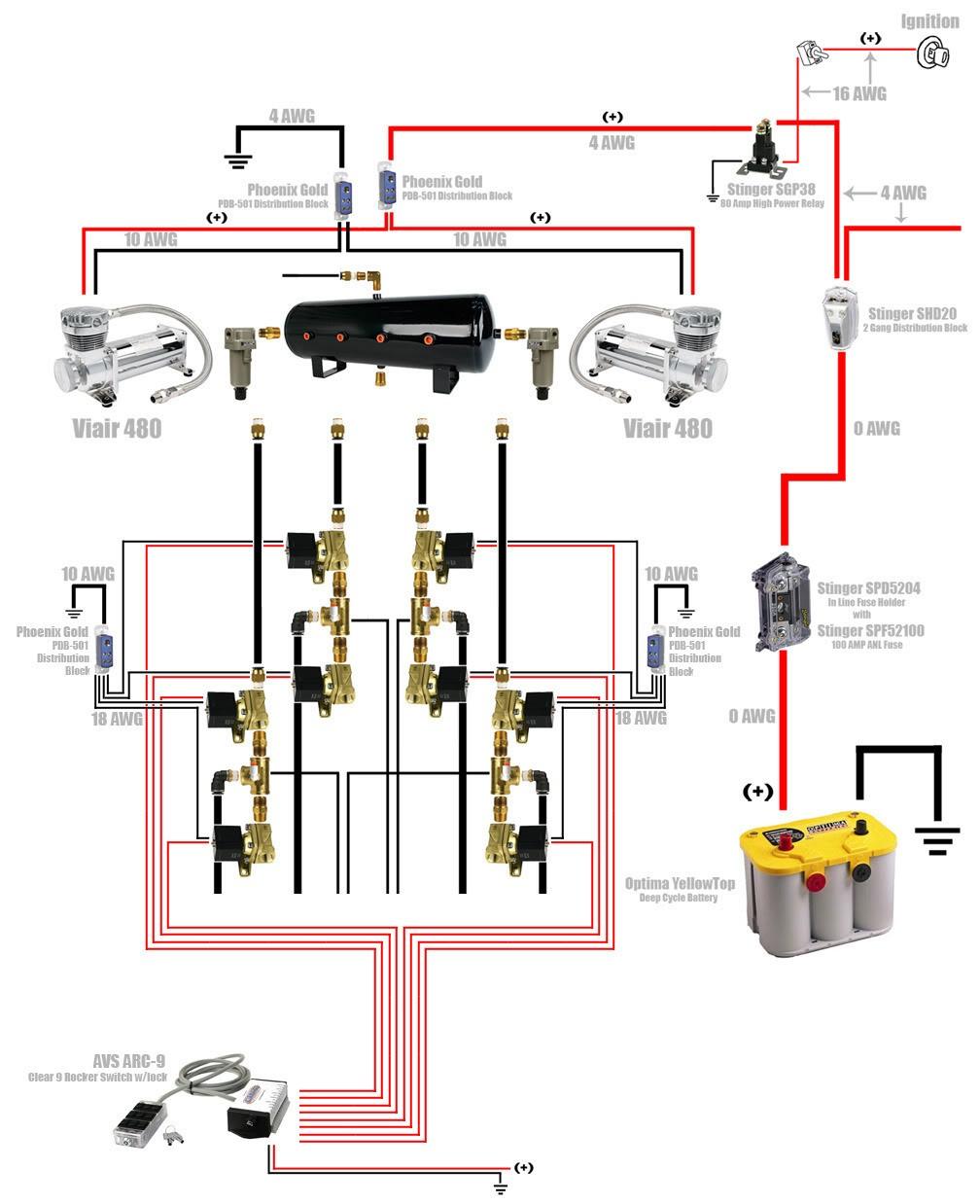 airbag suspension valve wiring diagram air ride solenoid with rh releaseganji net Preassure Switch Air Ride