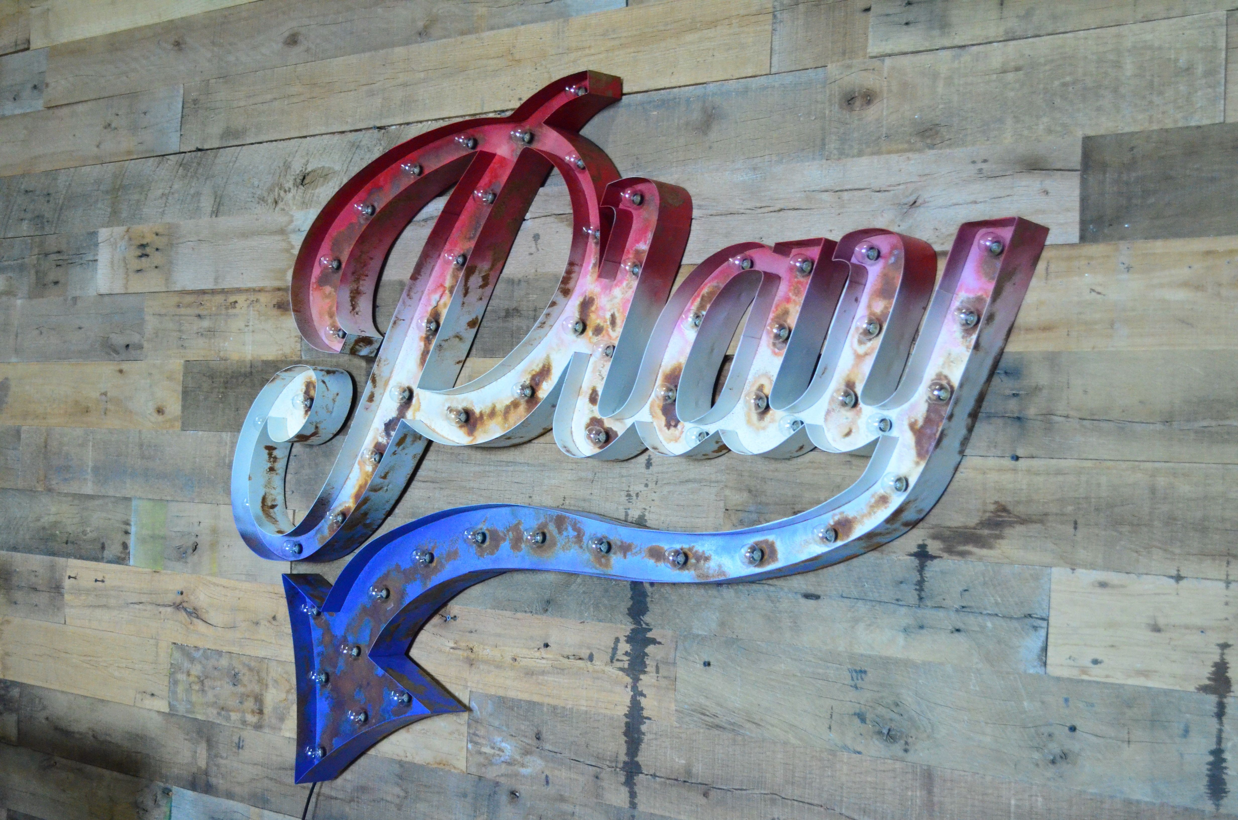 Custom Marquee Signs from the ORIGINAL Vintage Marquee Lights Your turn key signage