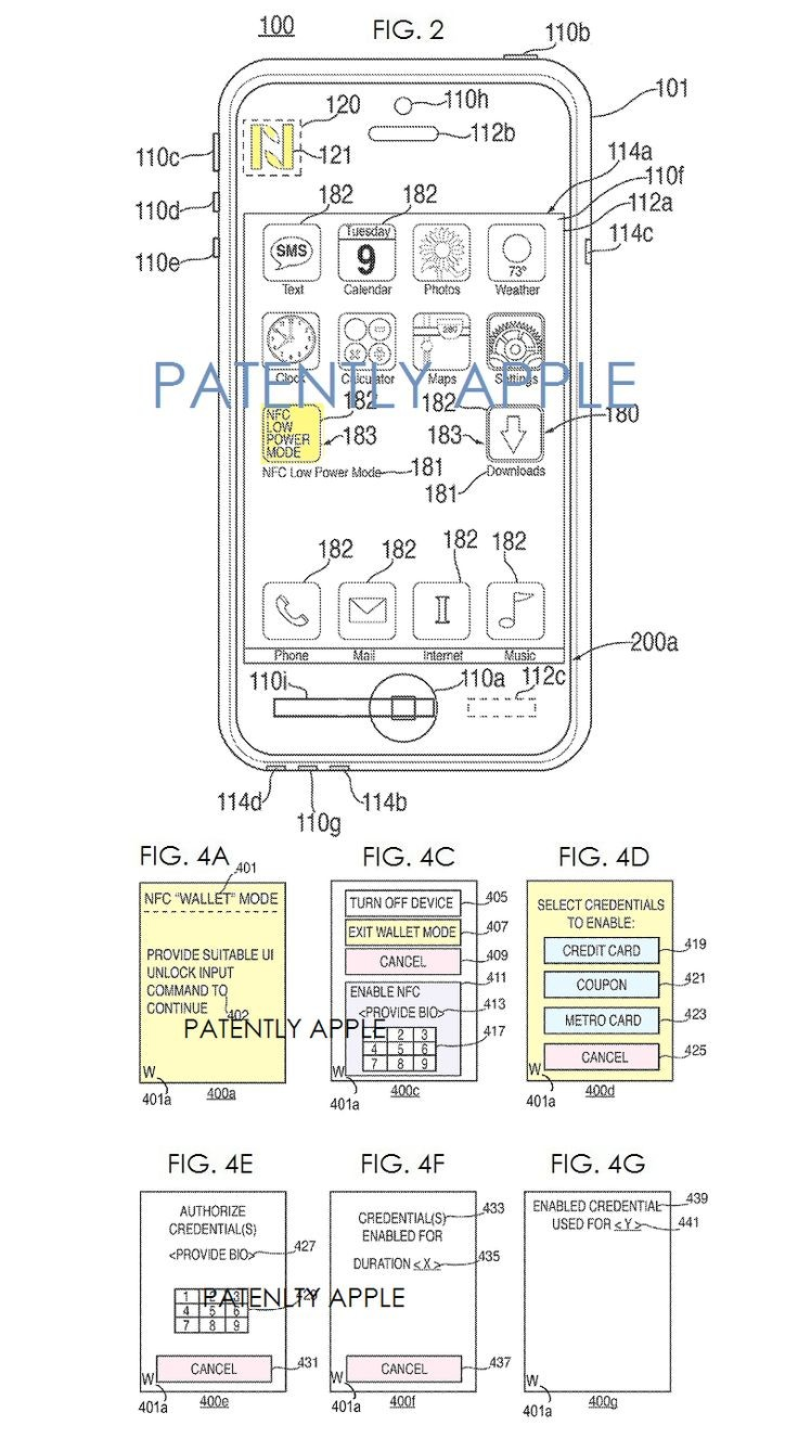 Apple Invents a New Apple Pay Lower NFC Power Mode Feature