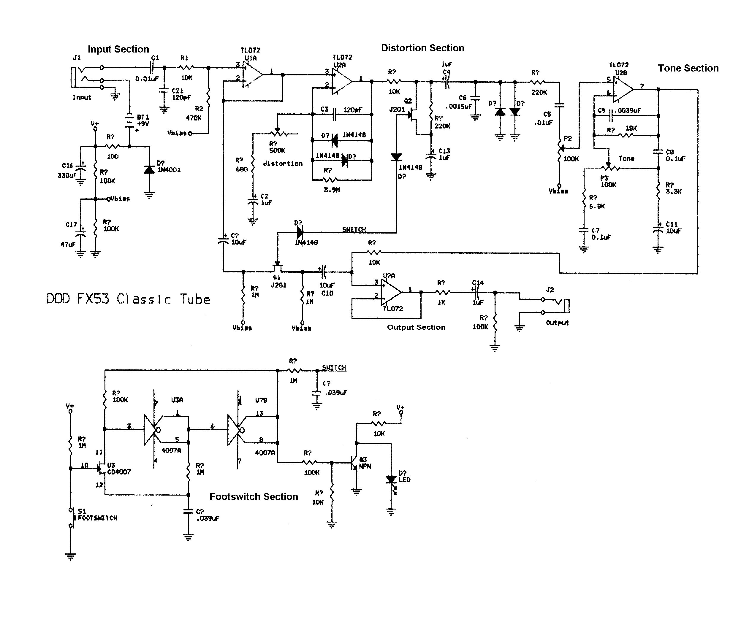 Bass Guitar Wiring Diagram Schematics Fresh Experimentalists Anonymous Diy Archives