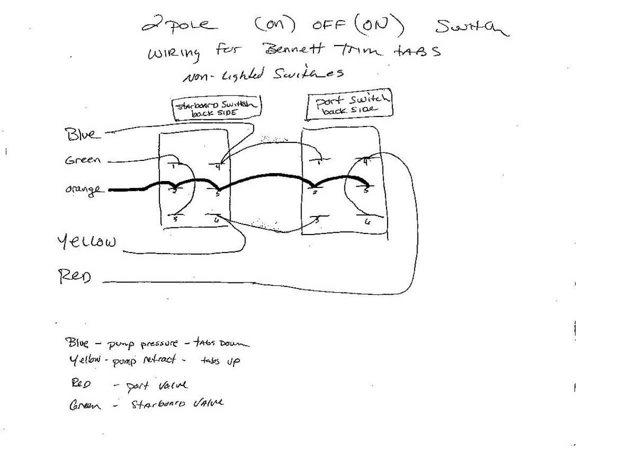 Bennett Trim Tab Wiring Switch Diagram Carling Rocker Switches In Boat Navigation Lights Light 1238x900