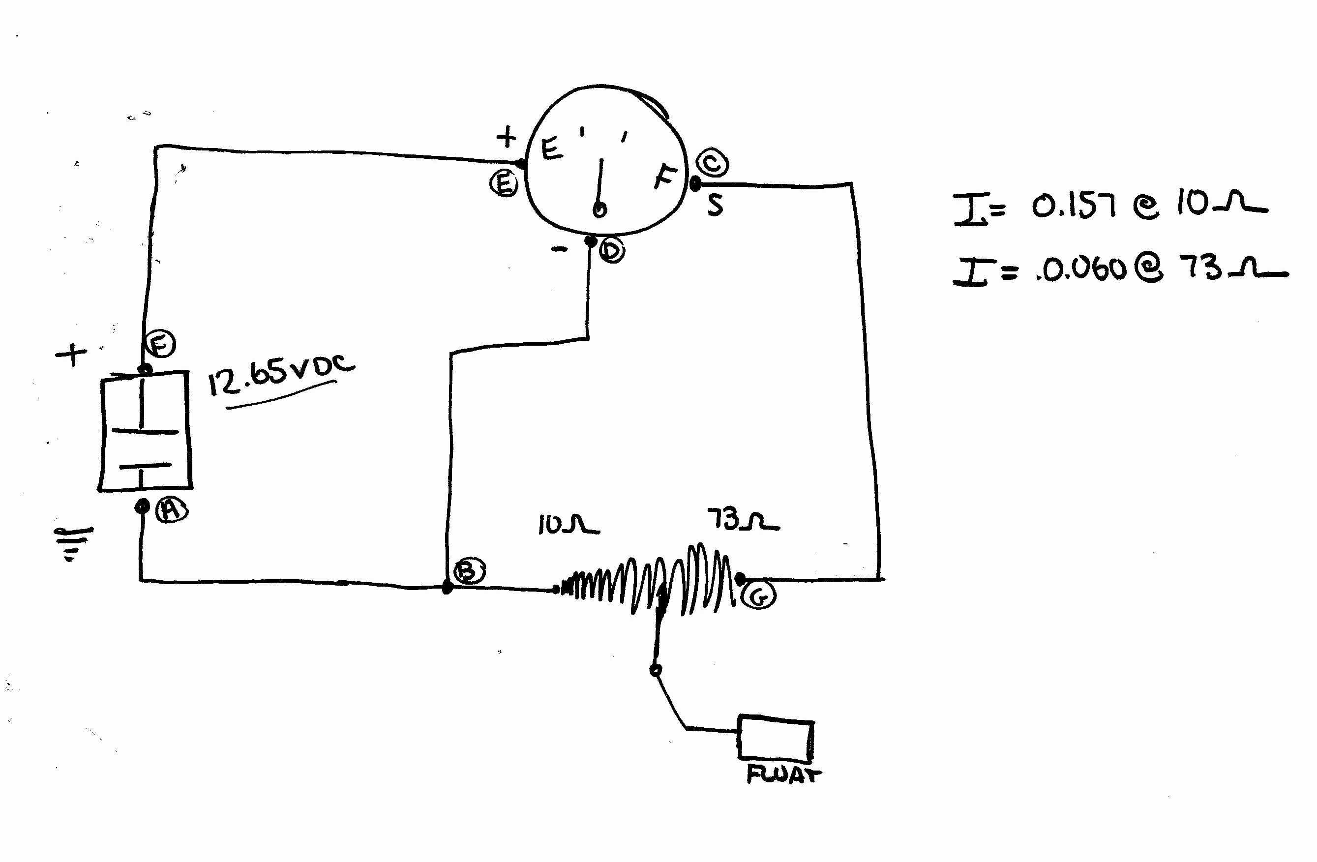 autometer volt gauge wiring diagram elegant car ford fuel guage rh potrero fut wiring diagram