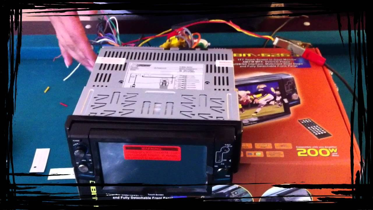 HOW TO WIRE UP STEREO