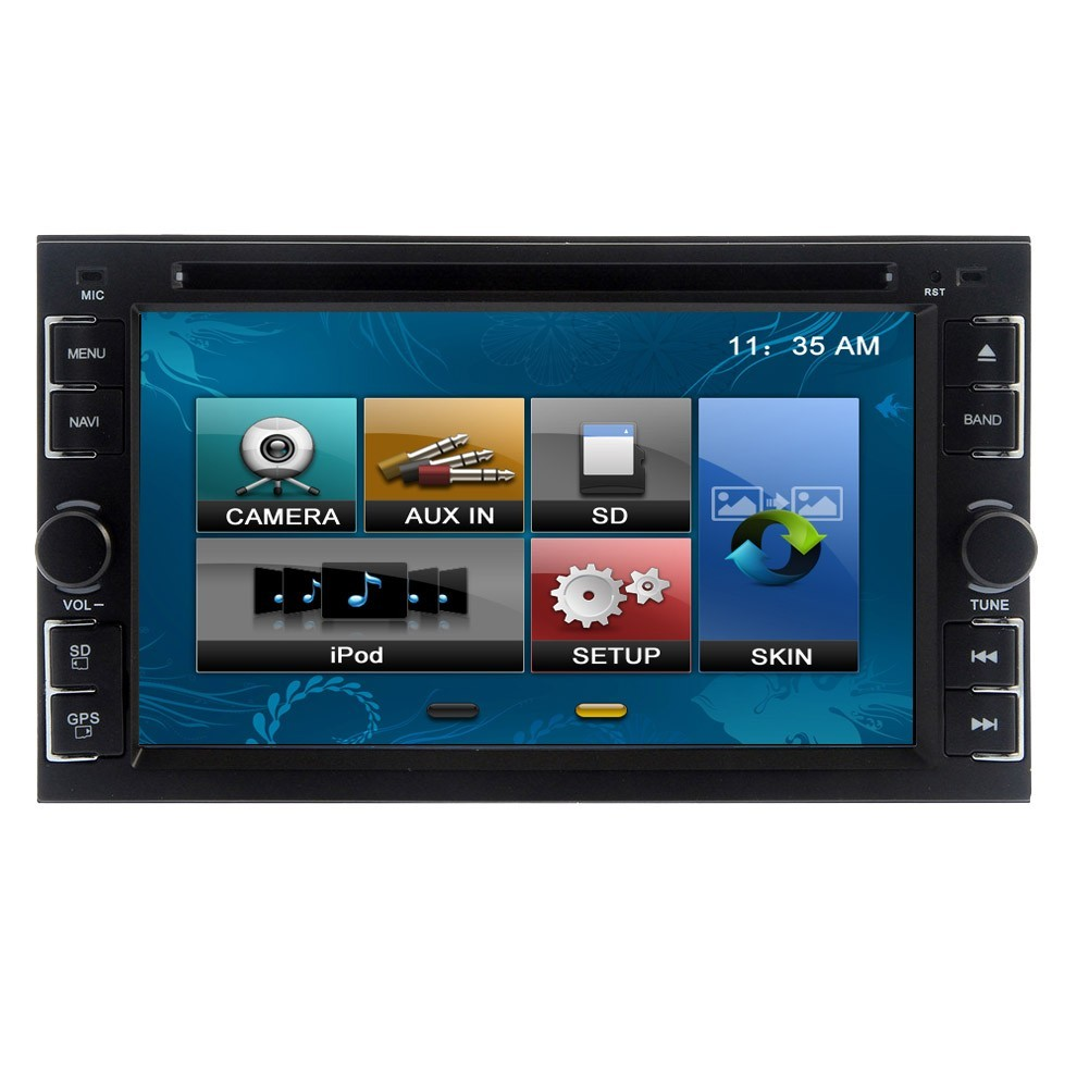 Universal 6 2 Inch Double 2 Din WinCE 6 0 System Car DVD CD player Stereo Auto Radio