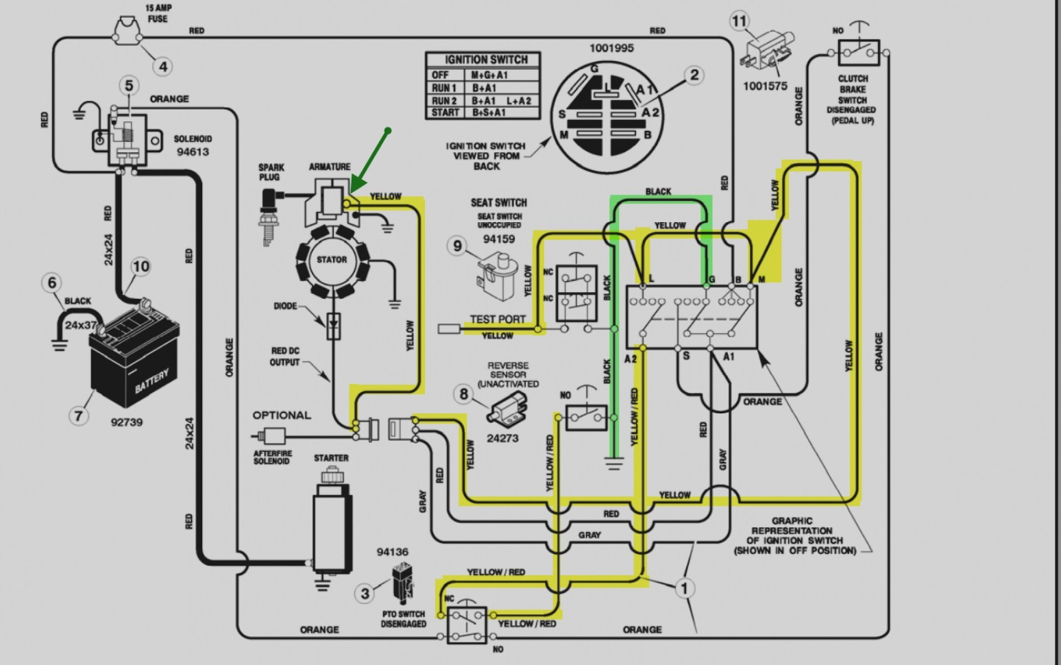 27 hp briggs and stratton wiring diagram enthusiast wiring diagrams u2022  rh rasalibre co Briggs Stratton 1 2 HP Wiring Briggs and Stratton 18 HP  Wiring ...