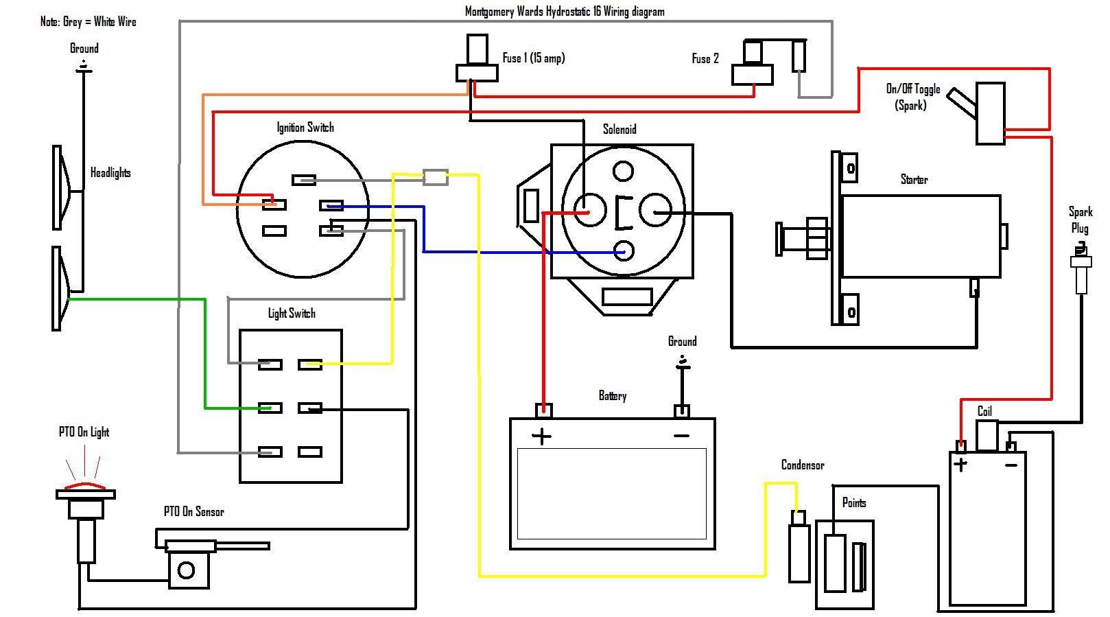 Briggs And Stratton Wiring Diagram Schematics Teamninjaz Me 20 7 Simple