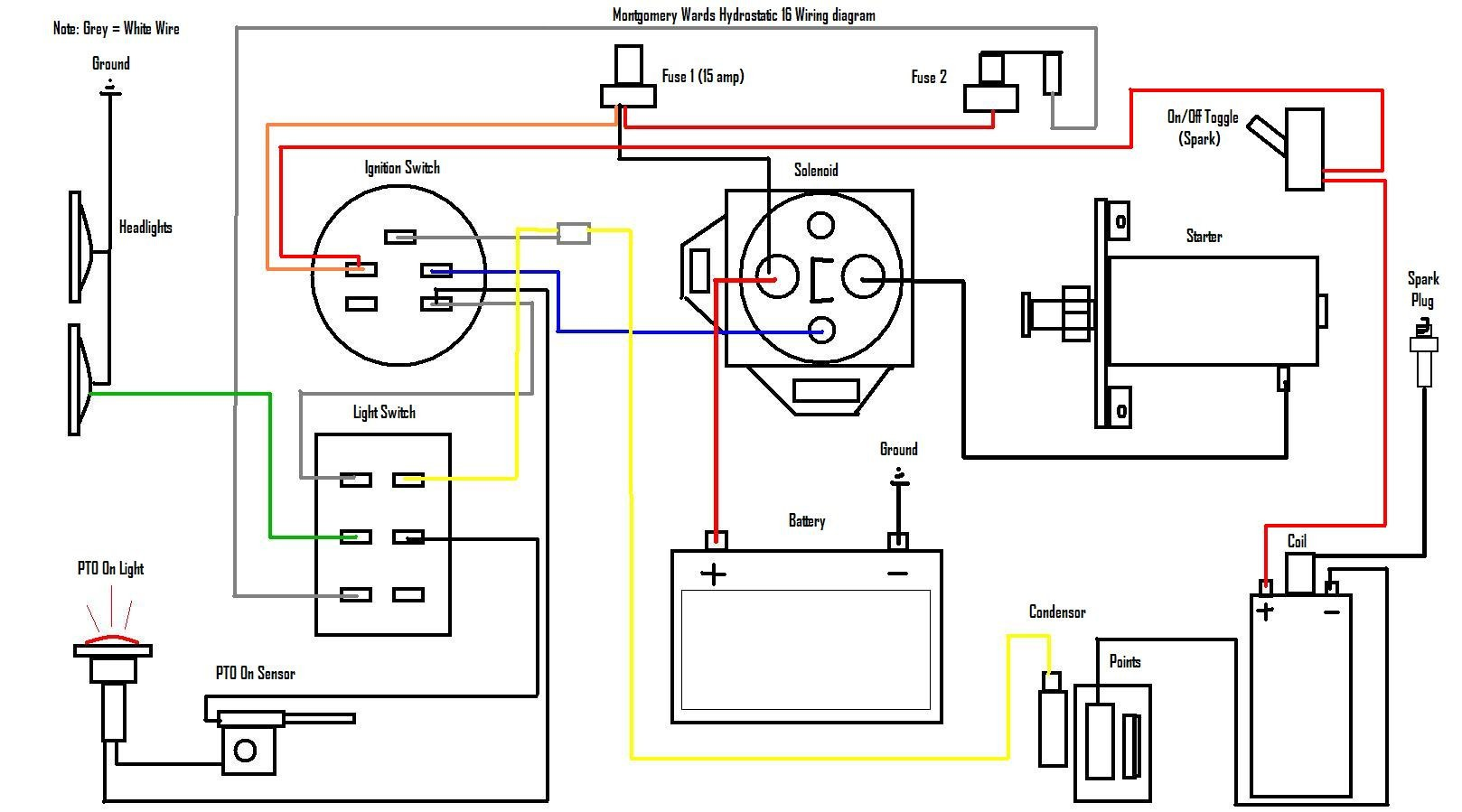 Briggs And Stratton Starter Solenoid Wiring Diagram ...