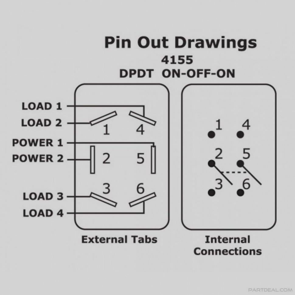 Carling Switches Wiring Diagram | Wiring Diagram Image