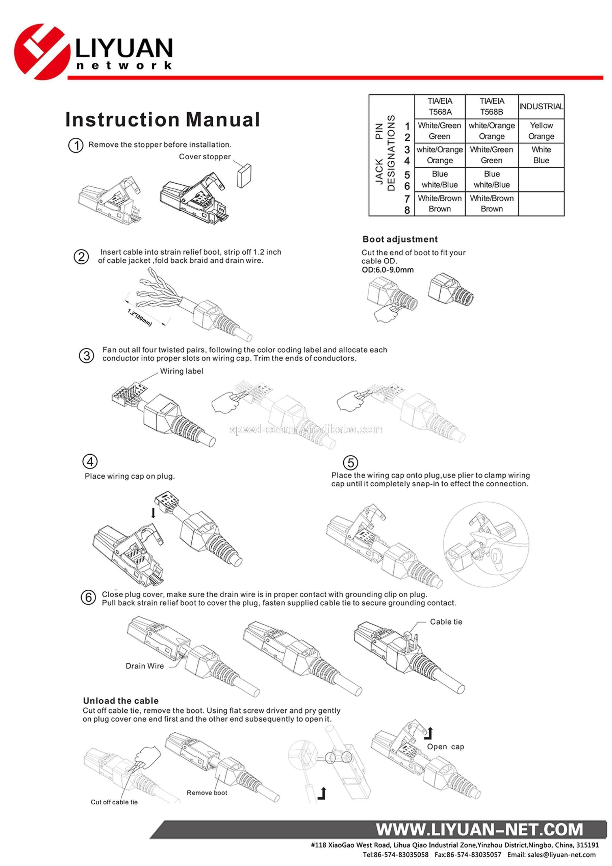 Universal Trailer Wiring Diagram Color Code Refrence Receptacle Wiring Diagram Best Elegant Cat 6 Wiring Diagram