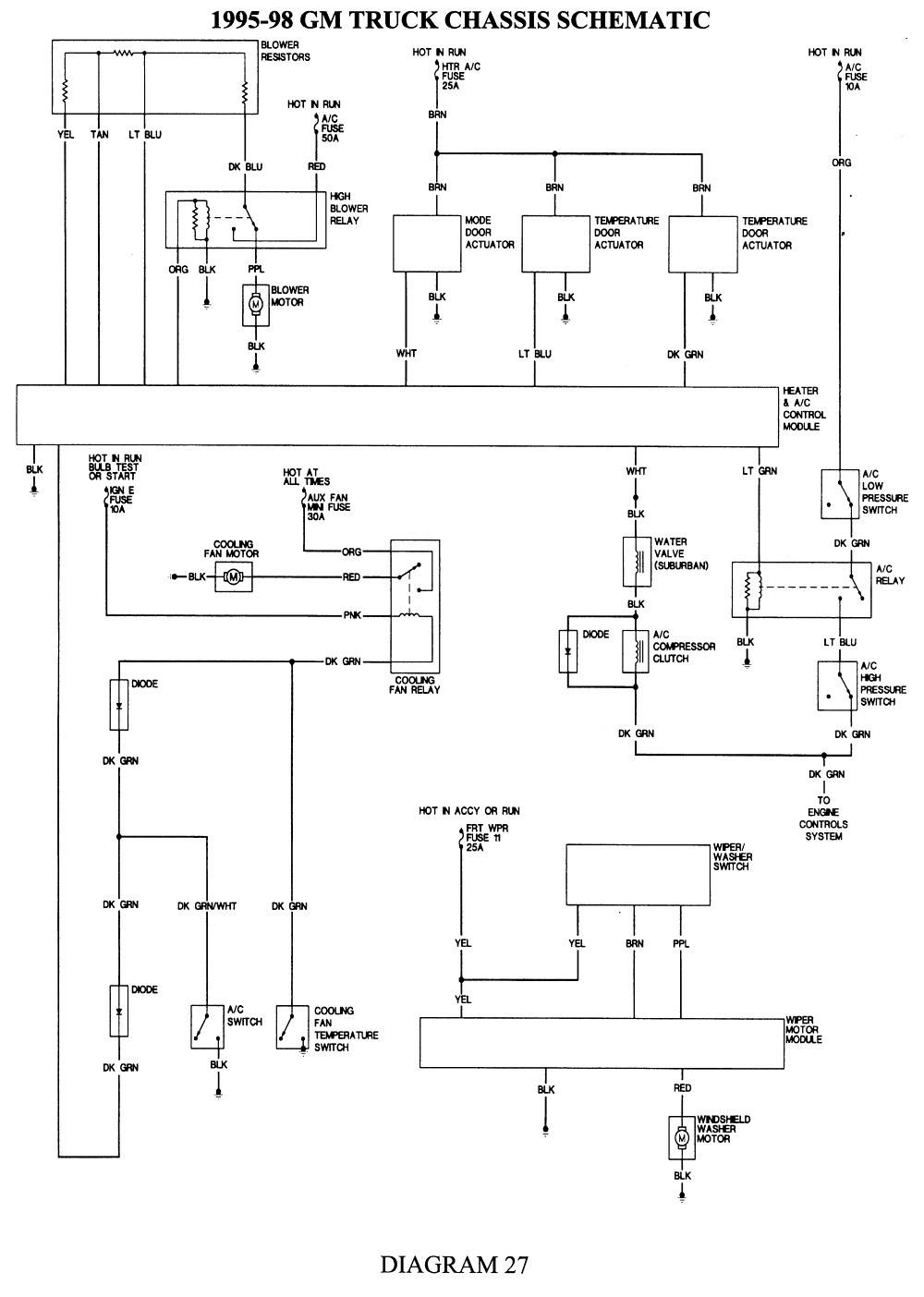 Chevy Truck Ac Wiring Diagram WIRE Center •