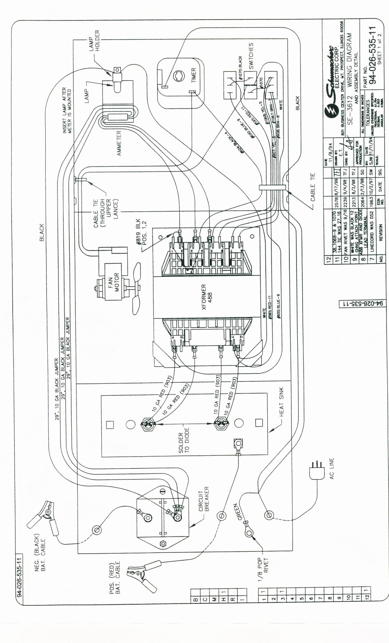 Schumacher Battery Charger Se 4020 Wiring Diagram New Schumacher Battery Charger Wiring Diagram Charger