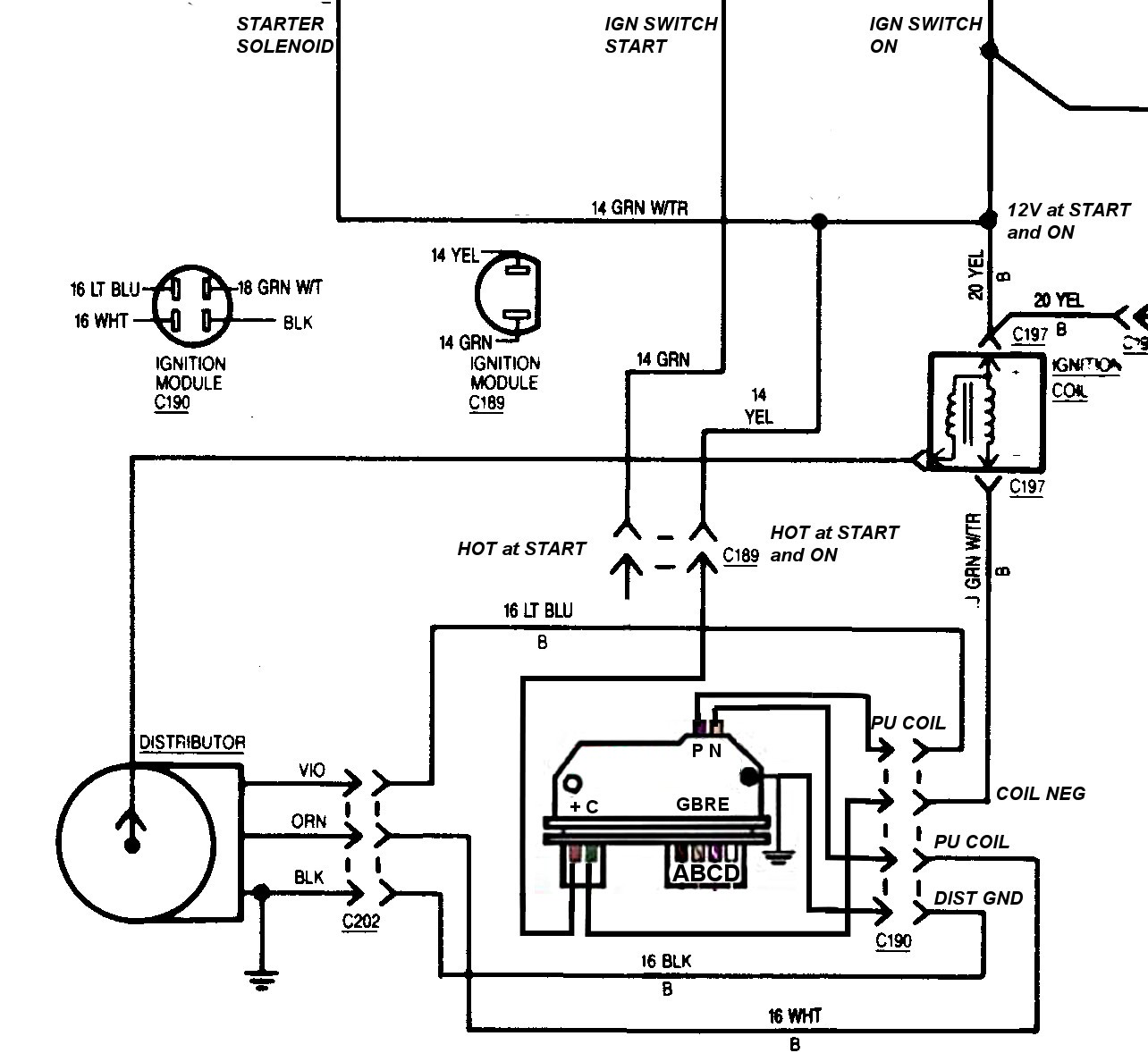 chevy 350 hei distributor wiring diagram inspirational