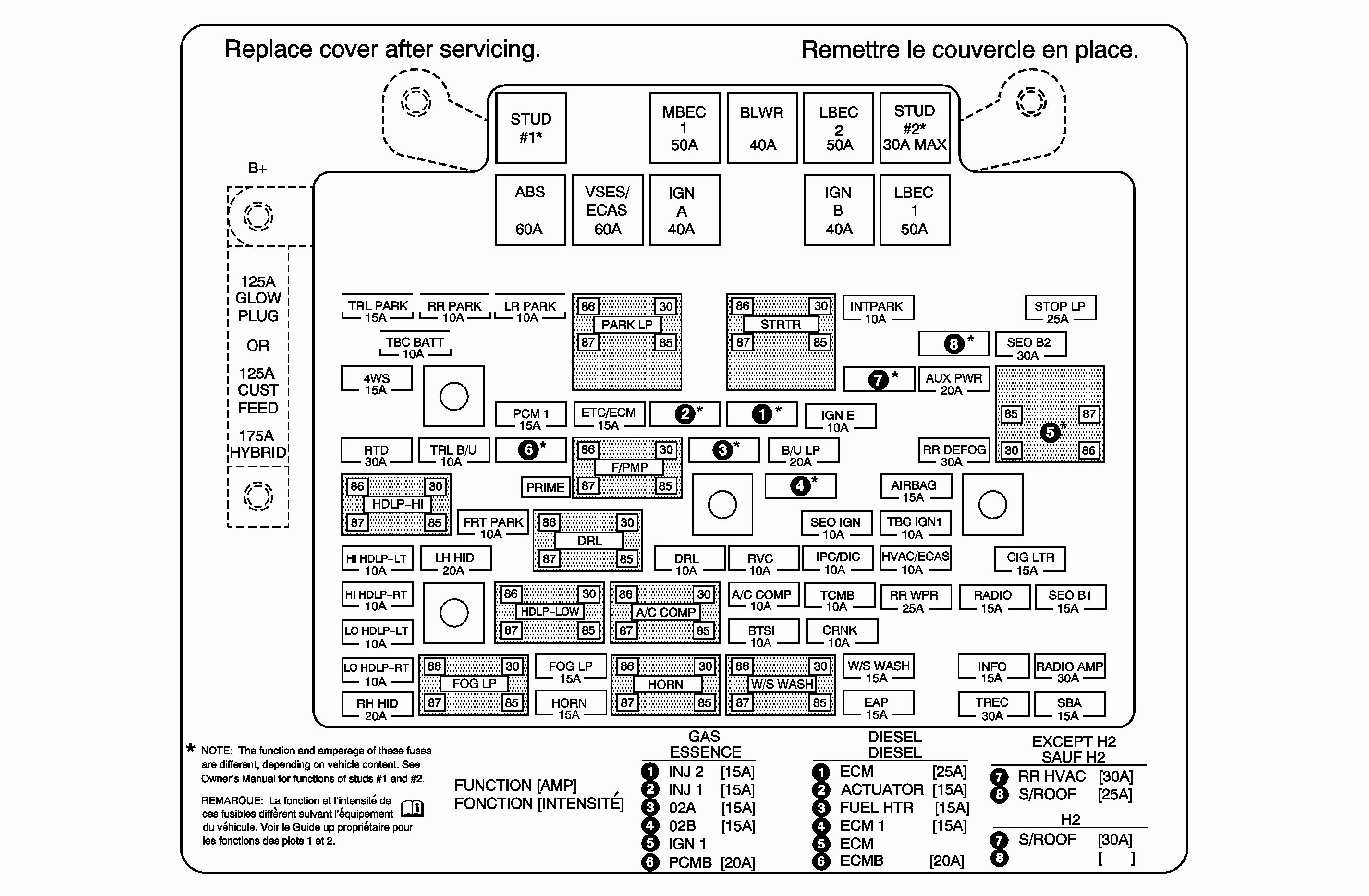 2004 Chevy Tahoe Fuse Box Diagram As Well 2005 Chevy Tahoe Fuse Box