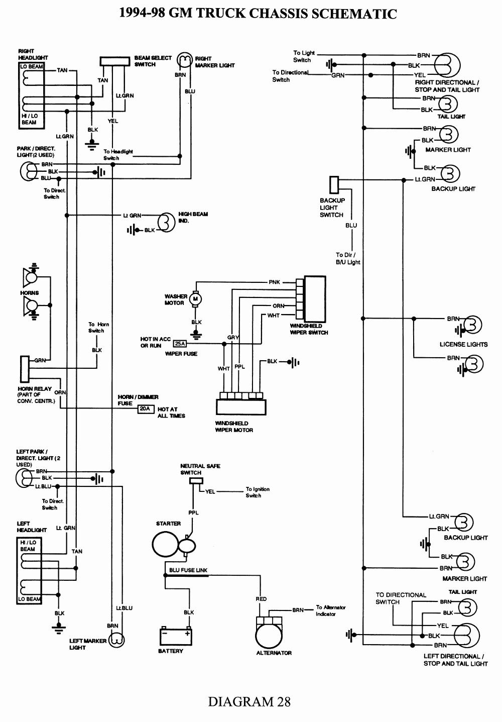 2004 Chevy Silverado Wiring Diagram Unique Chevy Backup Light Wiring Diagram Wiring Diagram