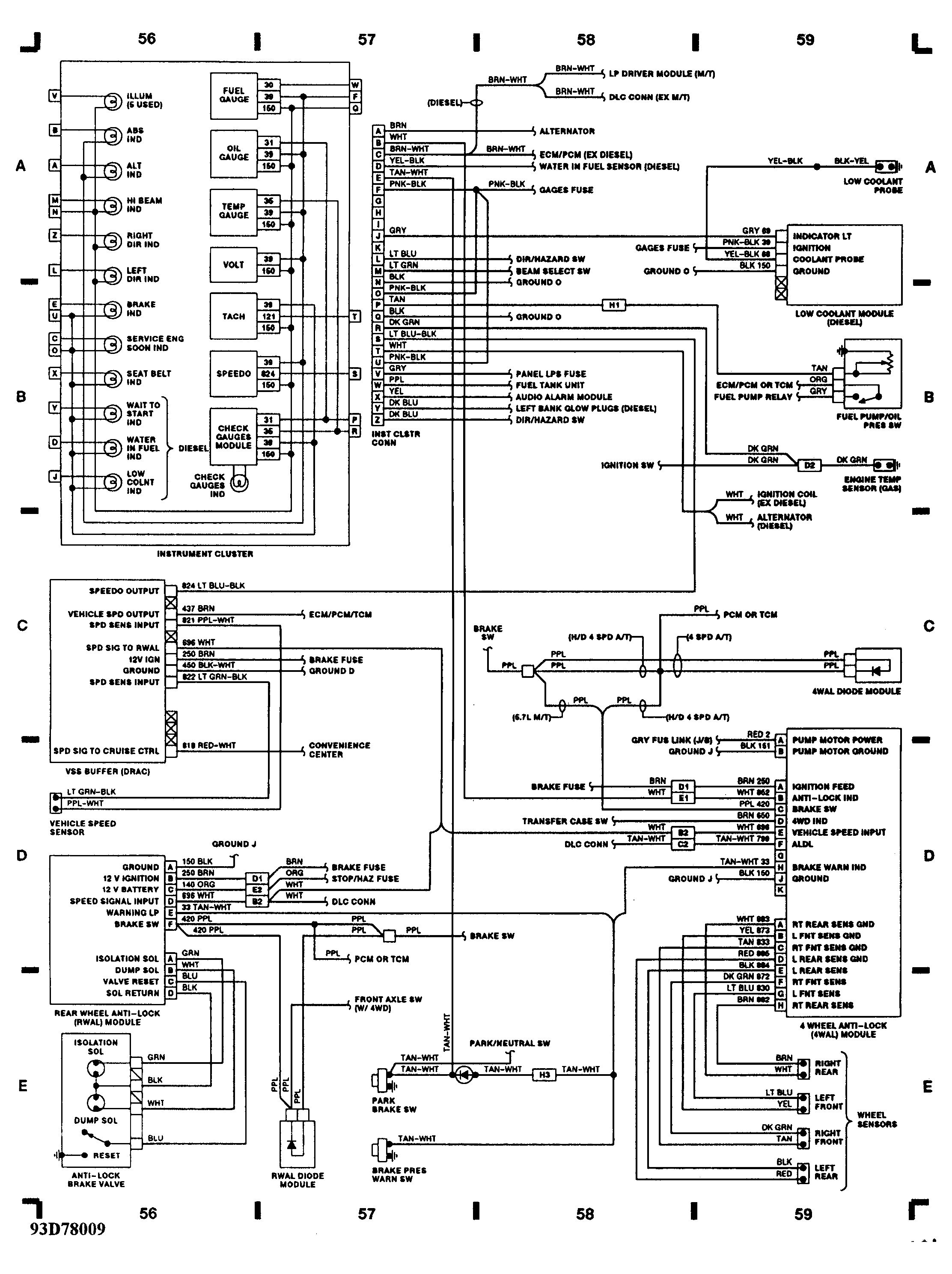 1993 Chevy Silverado Wiring Diagram Beautiful I Have A 93 Silverado with Od Automatic Transmission and 5 7 L