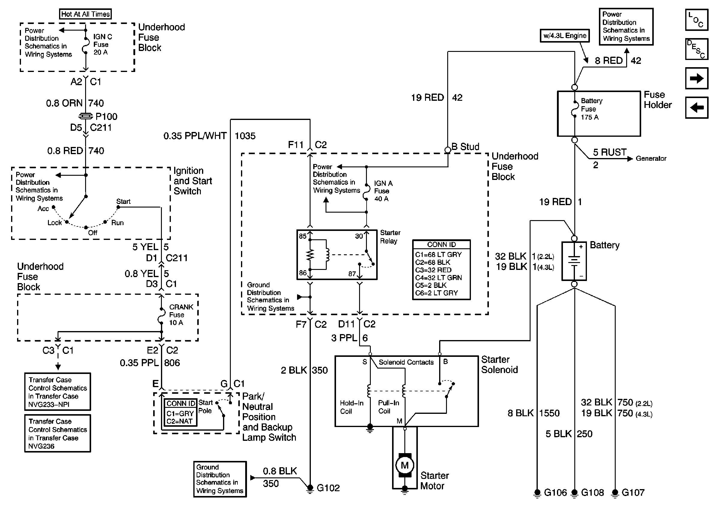 2003 Chevy Blazer Engine Diagram Need Wiring Diagran for Starter Circuit 2000 Chevy Blazer Throughout