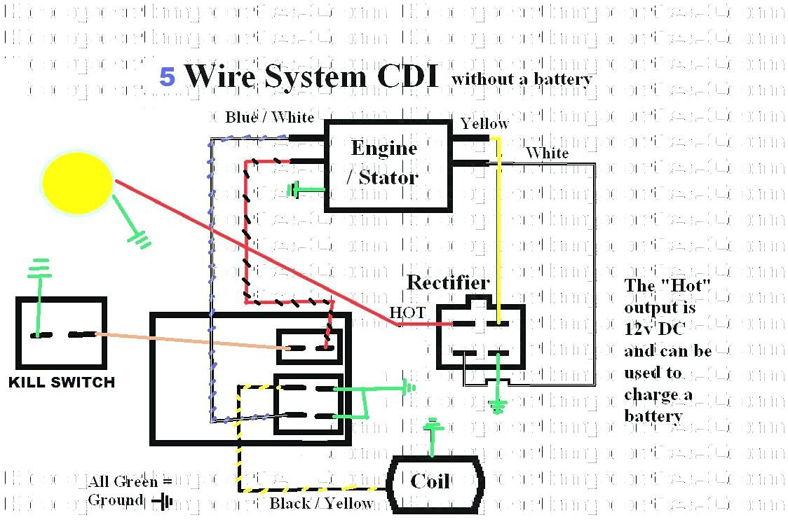 Wiring Manual Pdf  110 Atv Stator Wiring Diagram