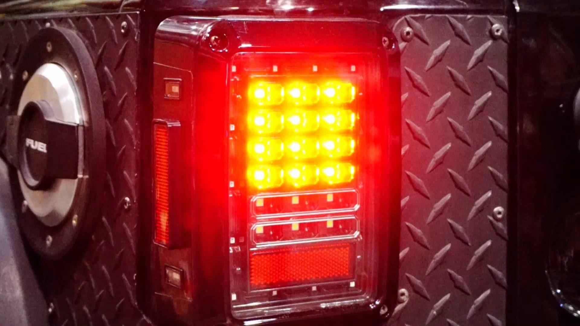 GENSSI LED Tail Lights Installation Guide For Jeep Wrangler JK 2007 2015