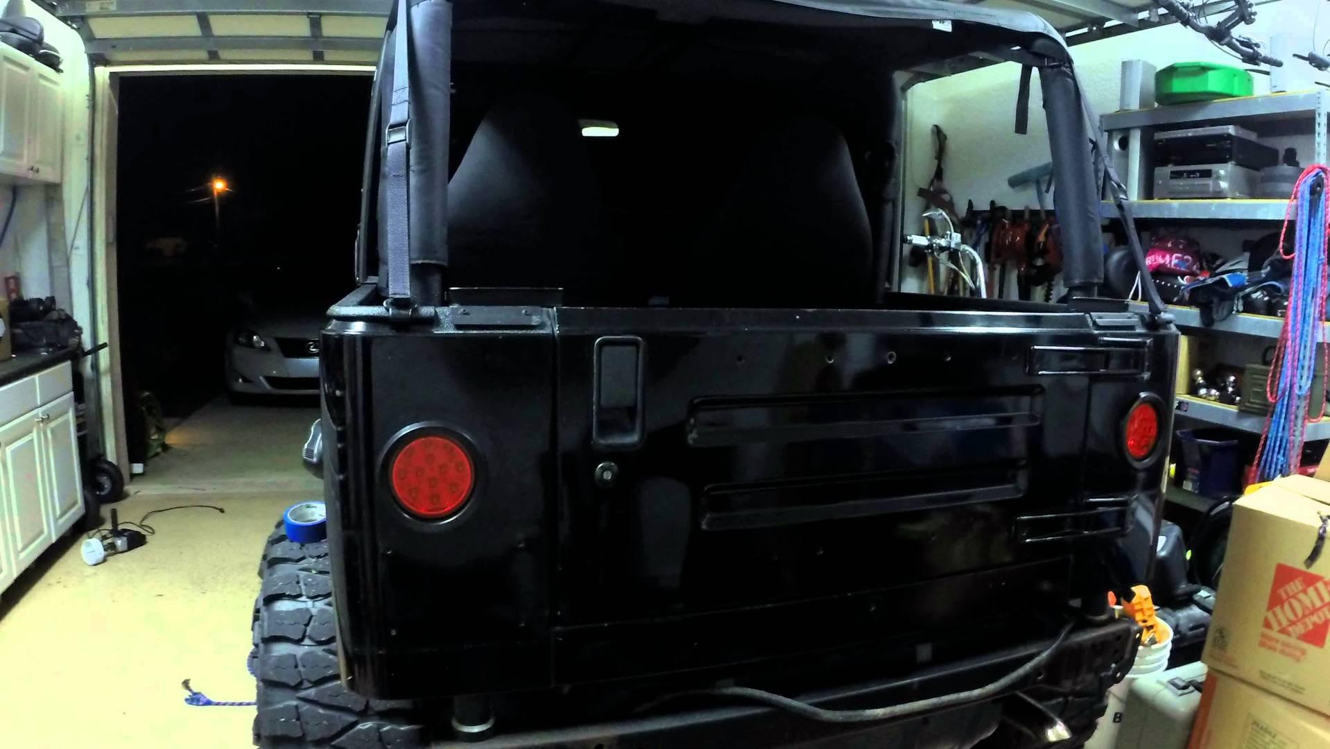 Jeep TJ LED Tail Light Conversion
