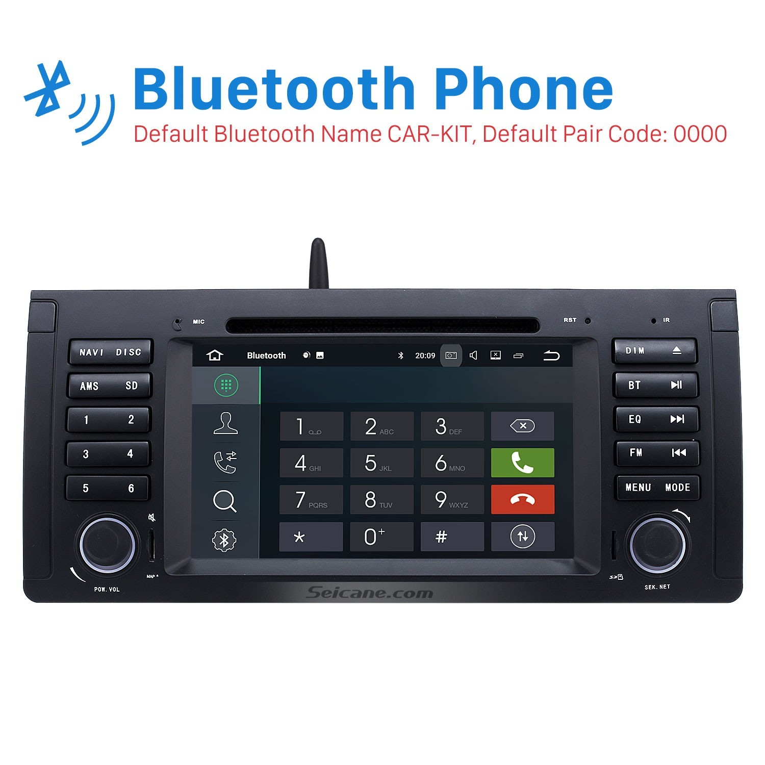 1 hd touch screen car audio 5 81