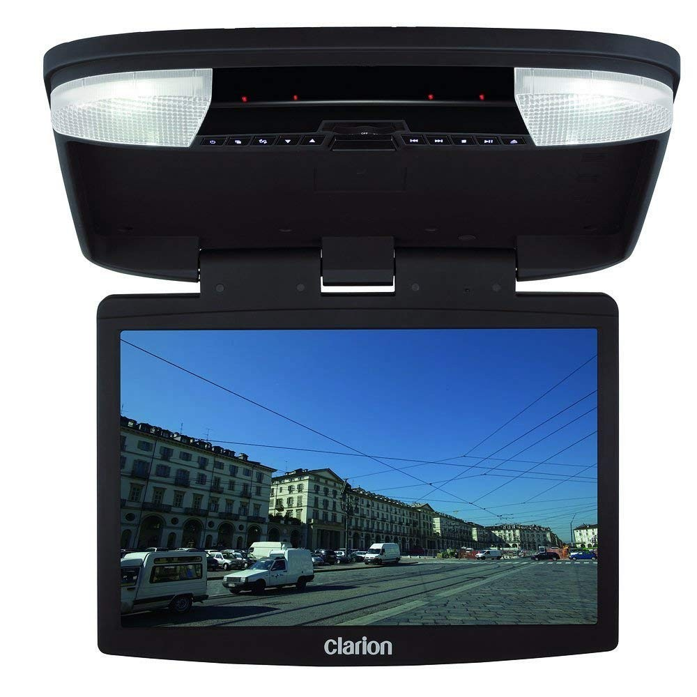 Amazon Clarion OHM1575VD R 15 4 Inch Overhead Monitor with DVD Player Refurbished Car Electronics