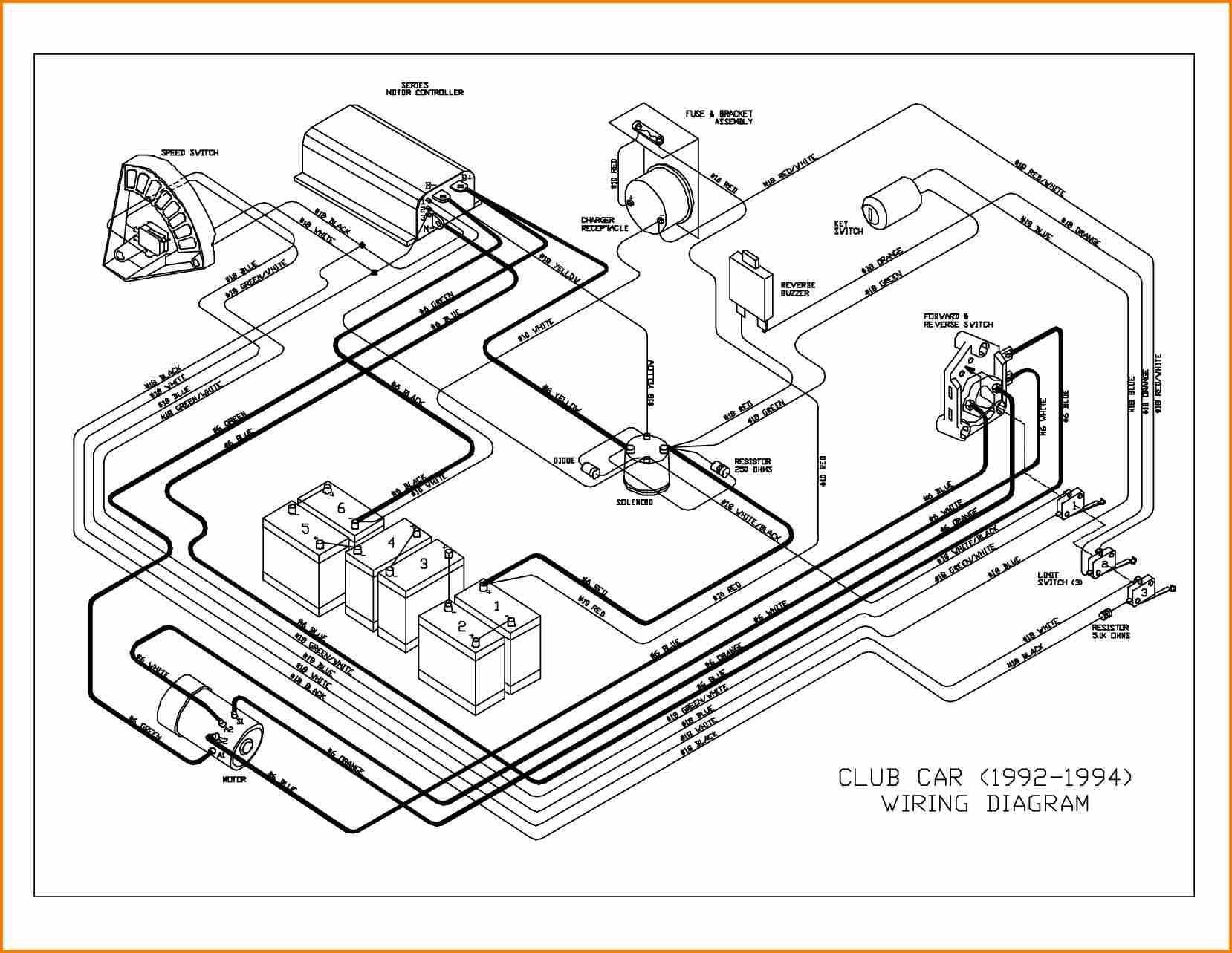 Wiring Diagram for Club Car Electric Golf Cart Inspirationa Diagram Likewise Club Car Golf Cart Wiring