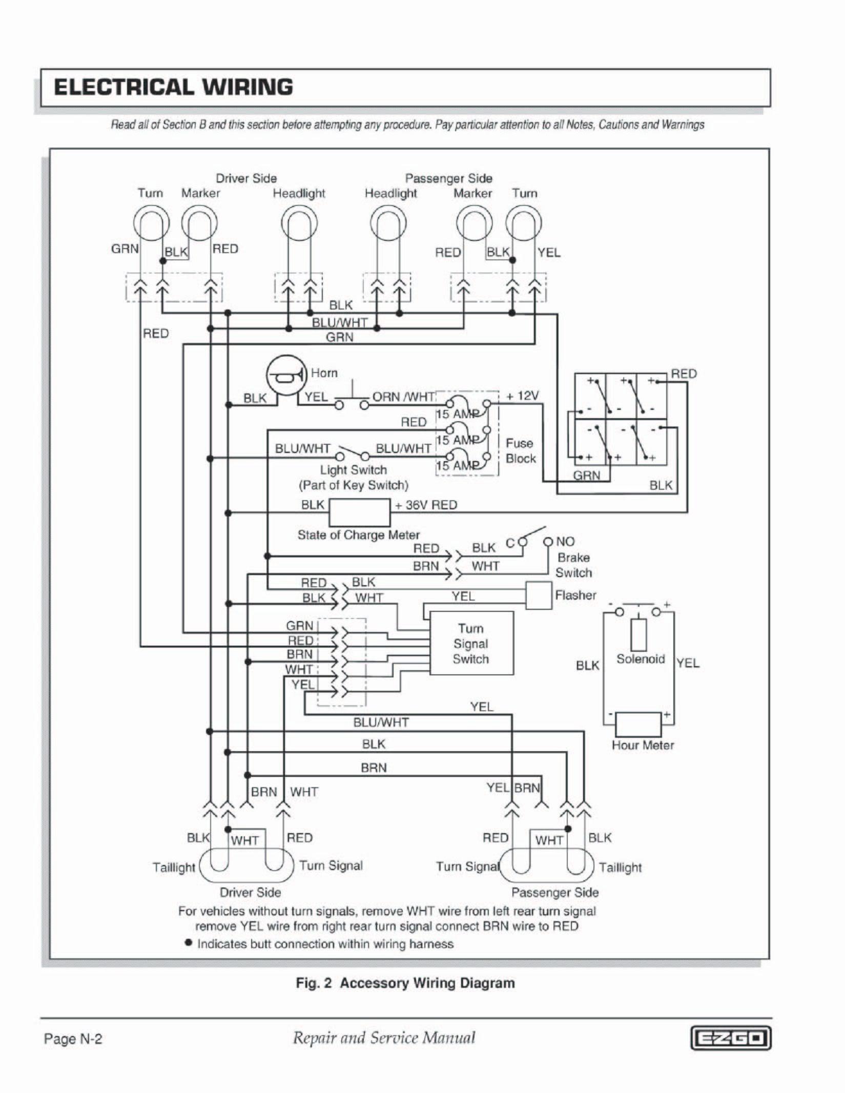 Wiring Diagram for Club Car Electric Golf Cart Fresh Vintage Ezgo Wiring Diagrams Wiring Diagrams