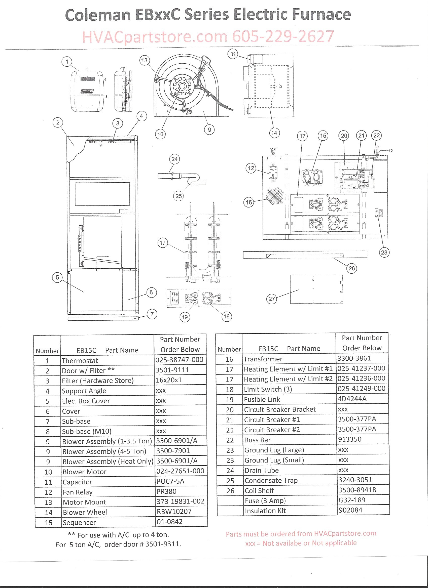 Coleman Wiring Diagram Manual Fresh Coleman Electric Furnace Wiring Diagram Wiring Diagram