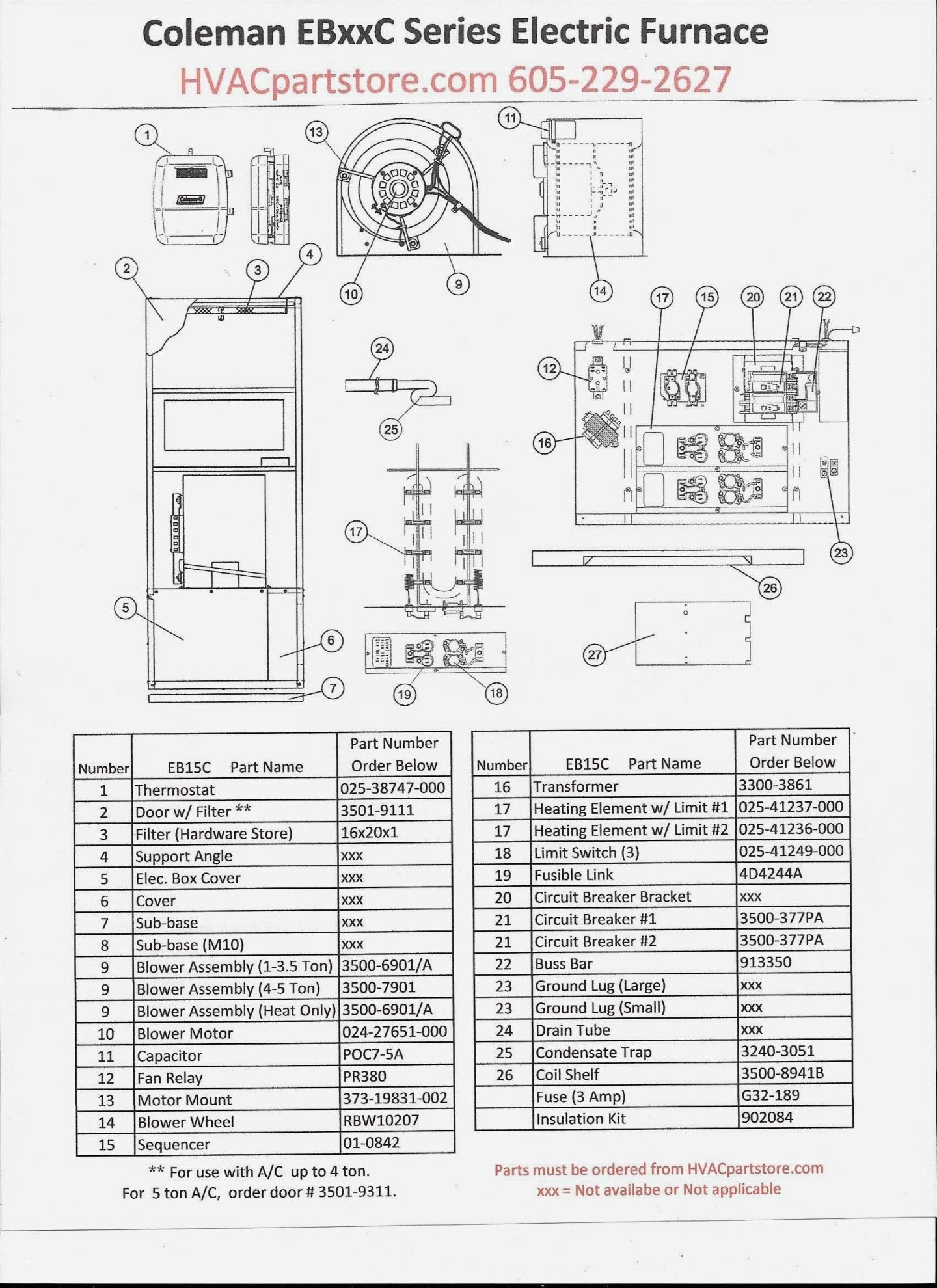 Furnace Blower Motor Wiring Diagram New Electric Furnace Fan Relay Coleman Electric Furnace Wiring Diagram