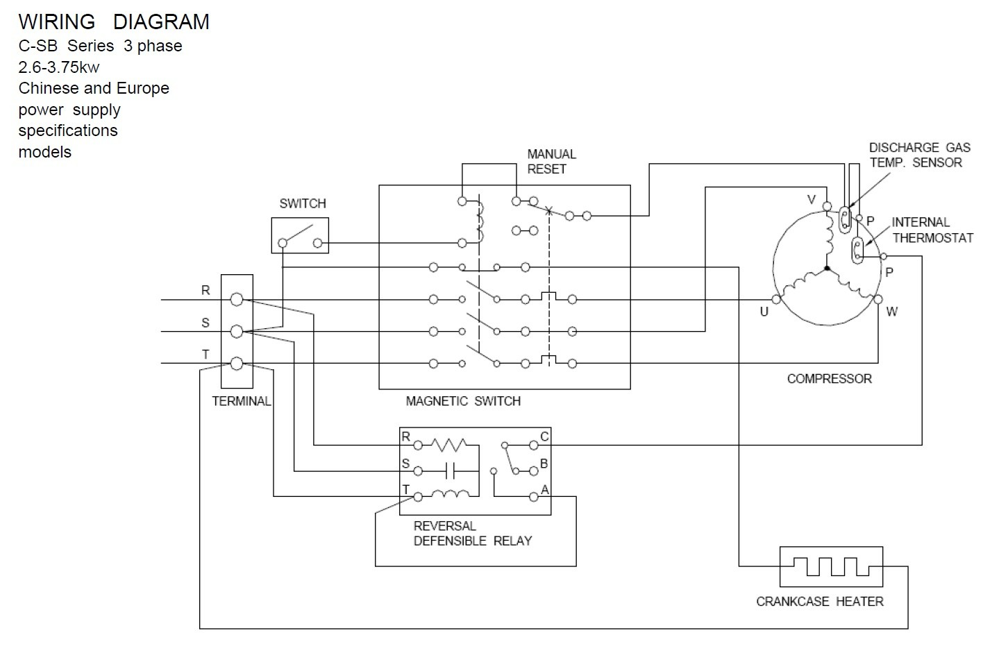 Wiring Diagram For Copeland Condensing Unit Automotive Udqr107w4 Units Todays Rh 10 8 4 1813weddingbarn Com