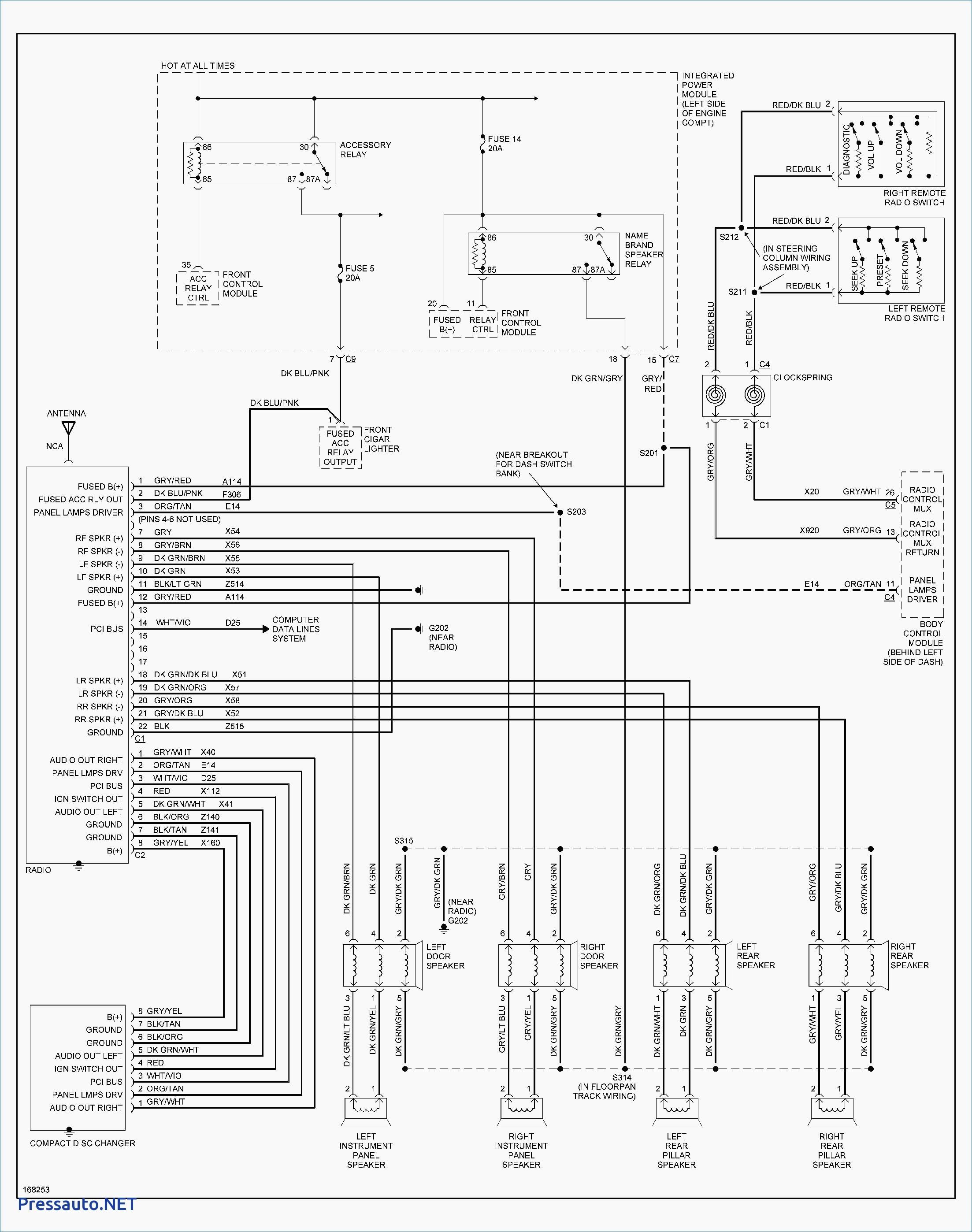 Wiring Diagram Dodge Ram 1500 Inspiration 2002 Dodge Ram 1500 Wiring Diagram Free Pressauto Net Stuning