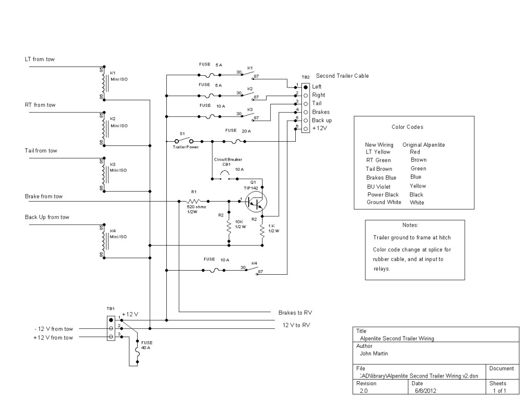 Wiring For Trailer Lights Inside Dodge Ram Diagram In Nissan Titan