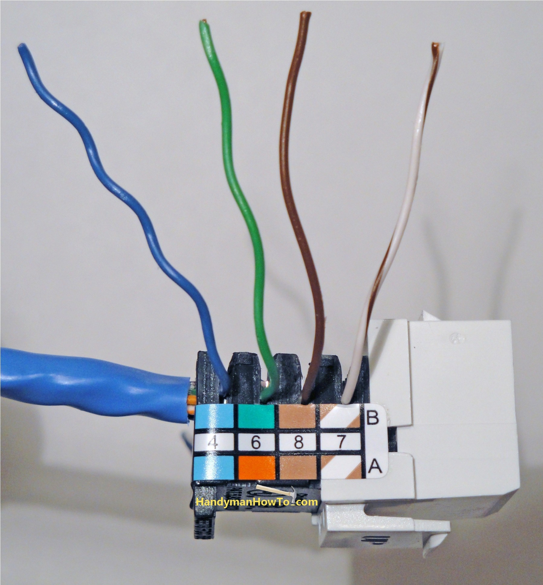 Wiring Diagram for Phone Jack Fresh Exelent Dsl Wiring Phone Jack ornament the Wire Magnoxfo