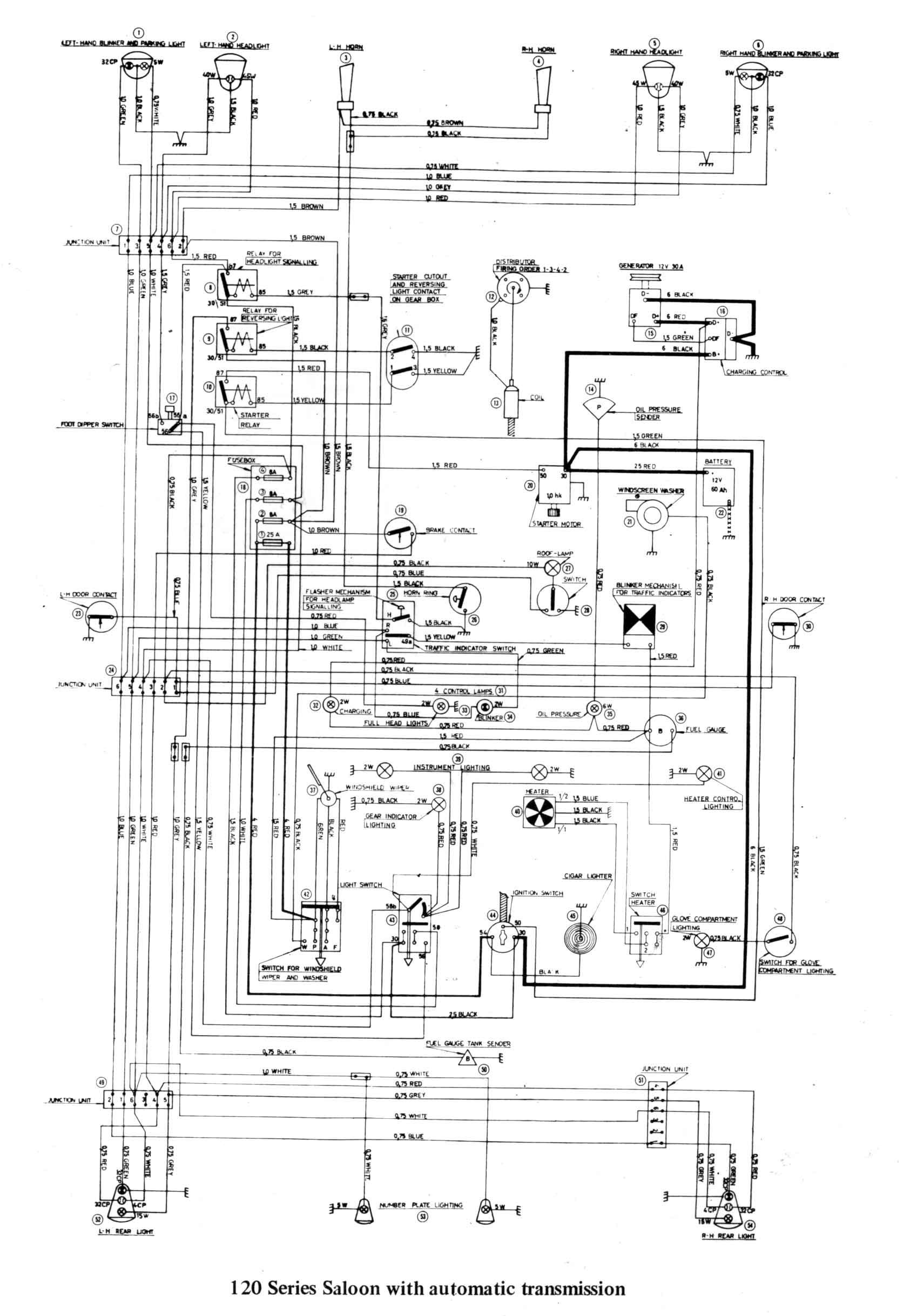 classic car wiring diagram Download Car Transmission Diagram Sw Em Od Retrofitting A Vintage Volvo