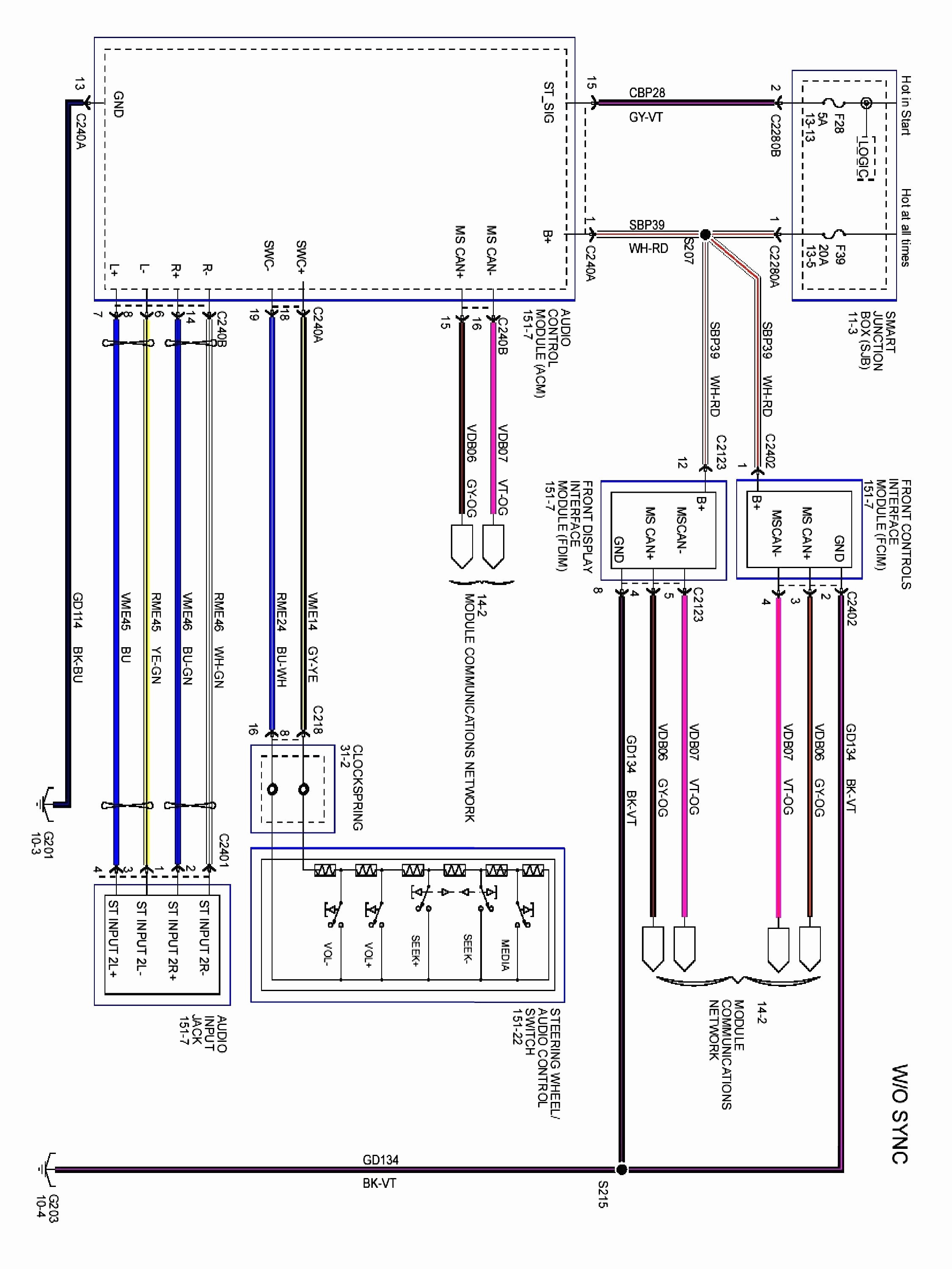 Wiring Diagram for Amplifier Car Stereo Best Amplifier Wiring Car sound Wiring Diagram Sample