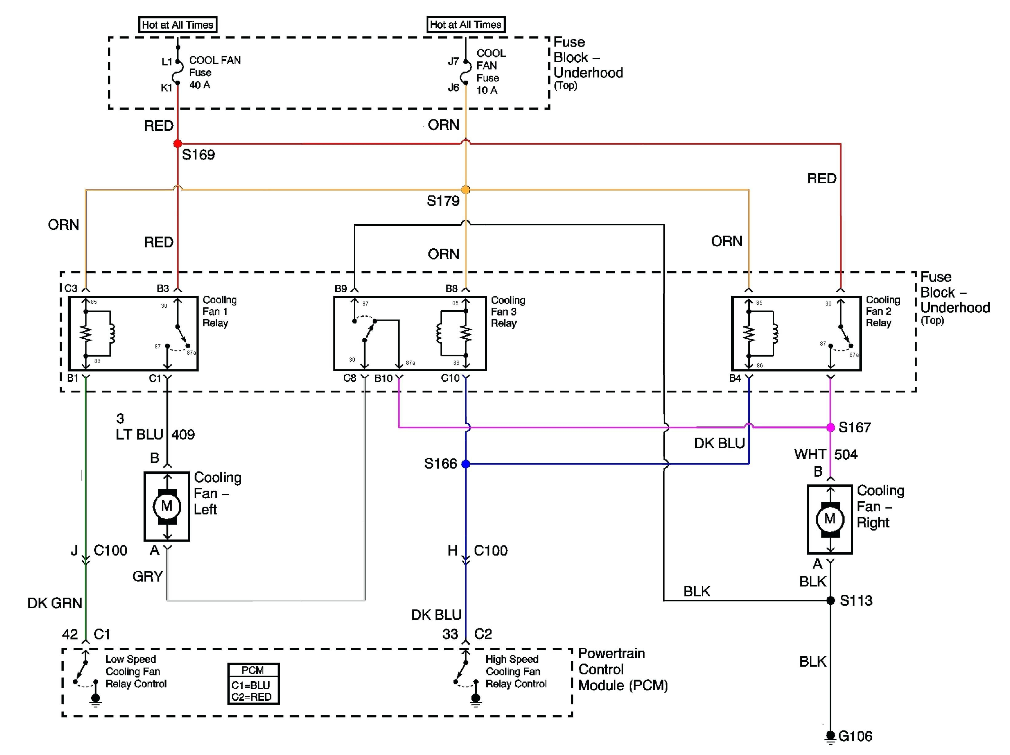 Cooling Fan Relay Wiring Diagram Beautiful Wiring Diagram Cooling Fan Relay Electrical Switch Lighting for