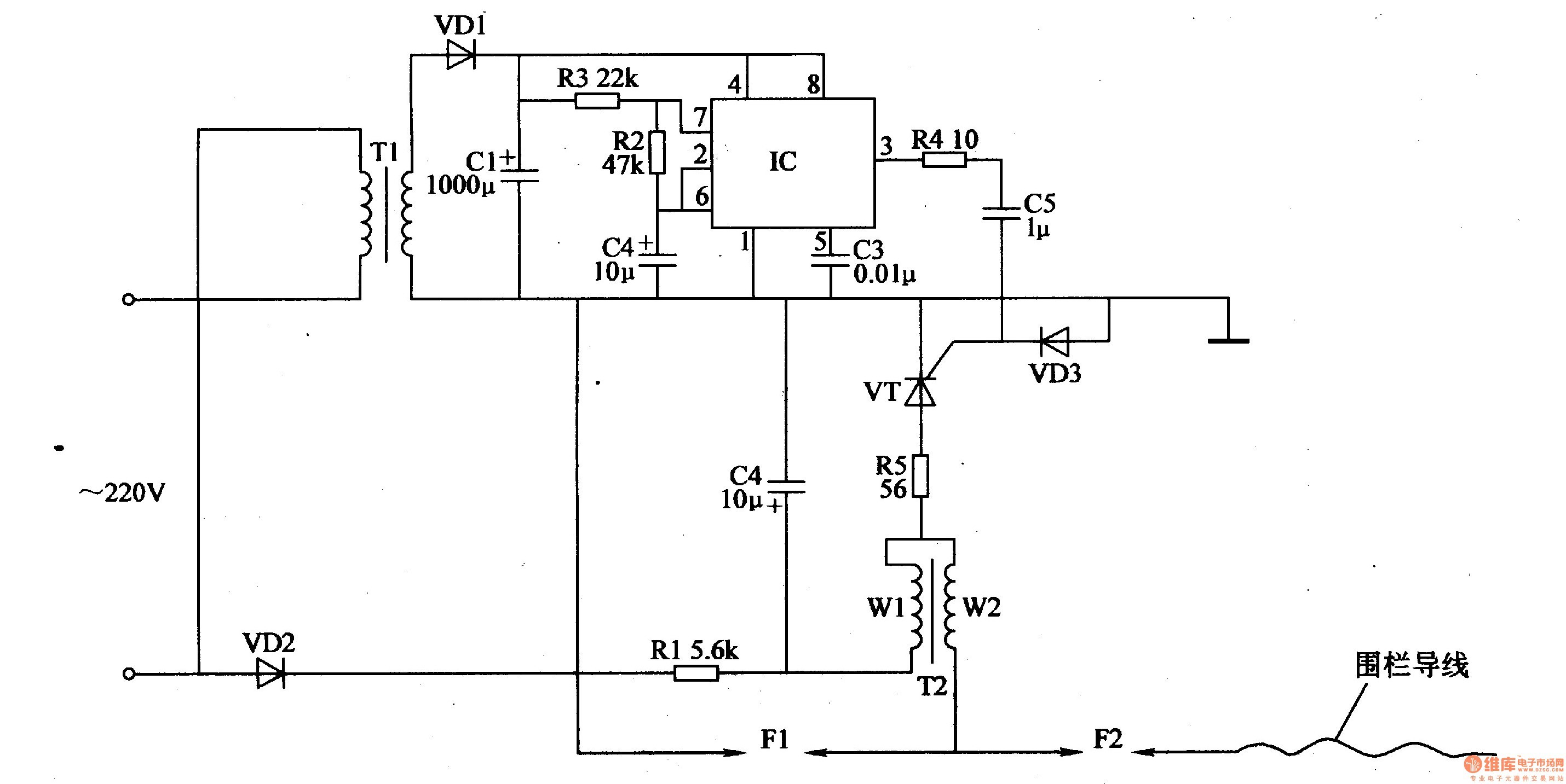 How to Wire An Electric Fence Diagram Fresh High Voltage Electric Fence Circuit • Fences Design