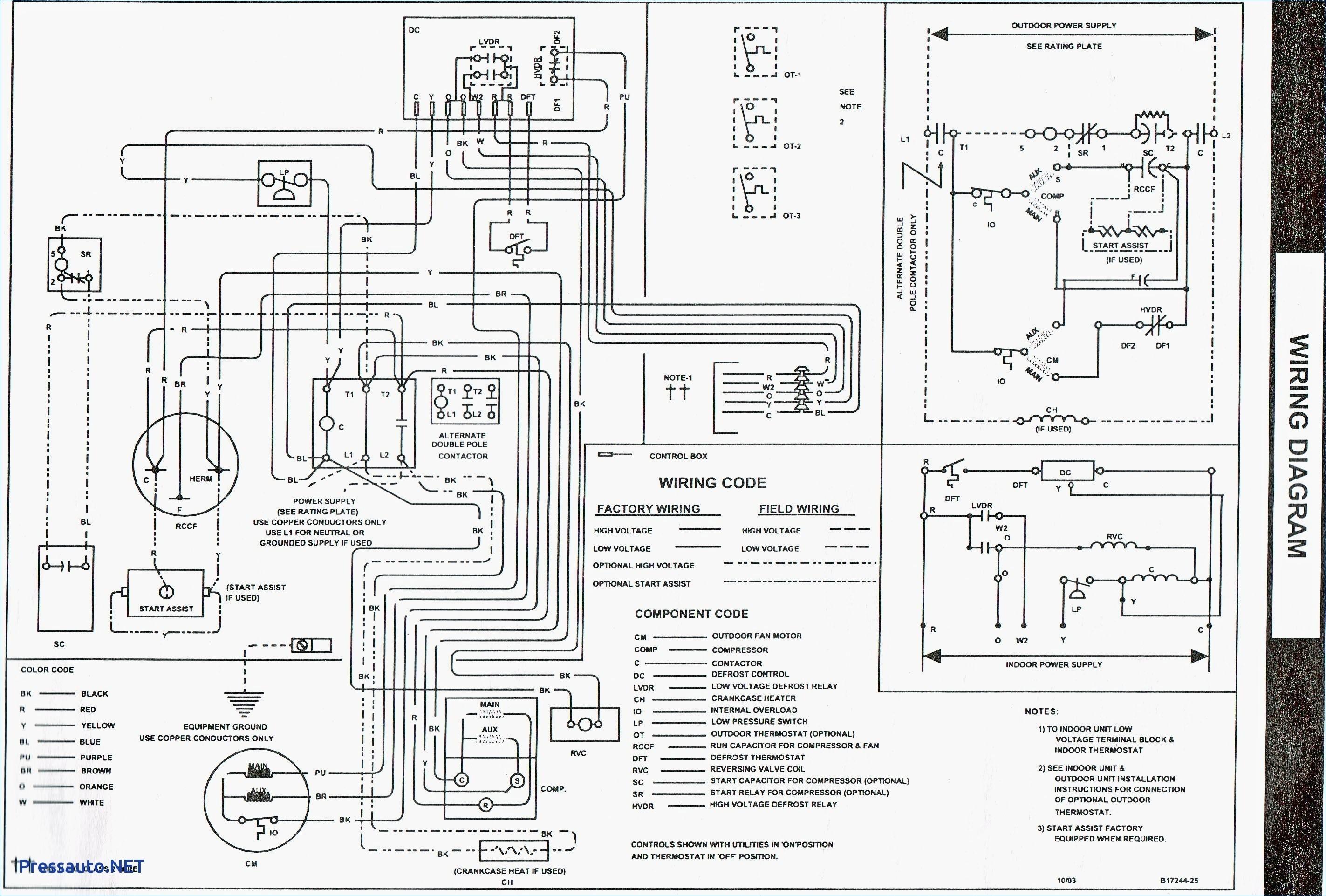 York Electric Furnace Wiring Diagram Valid Goodman Air Handler Wiring Diagram Best Wiring York Diagram