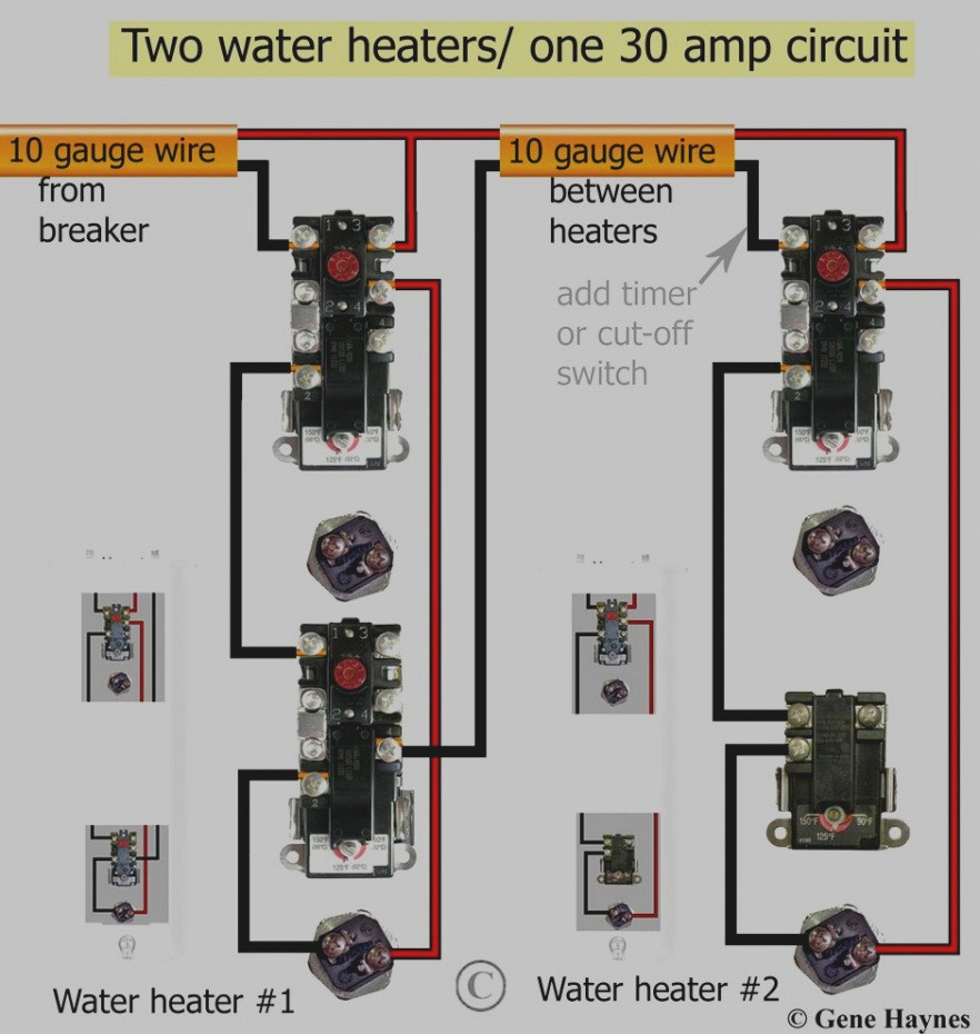 25 Wiring Diagram For Electric Hot Water Heater Me