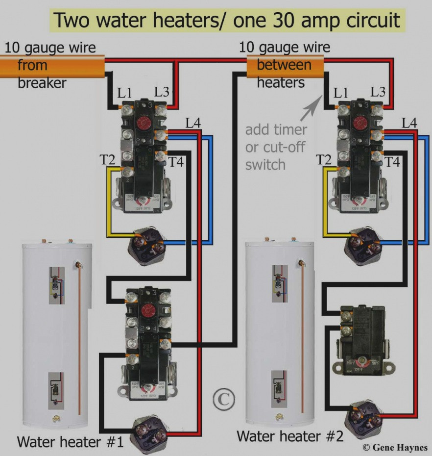 25 Beautiful Wiring Diagram For Electric Hot Water Heater Refrence Thermostat Geyser