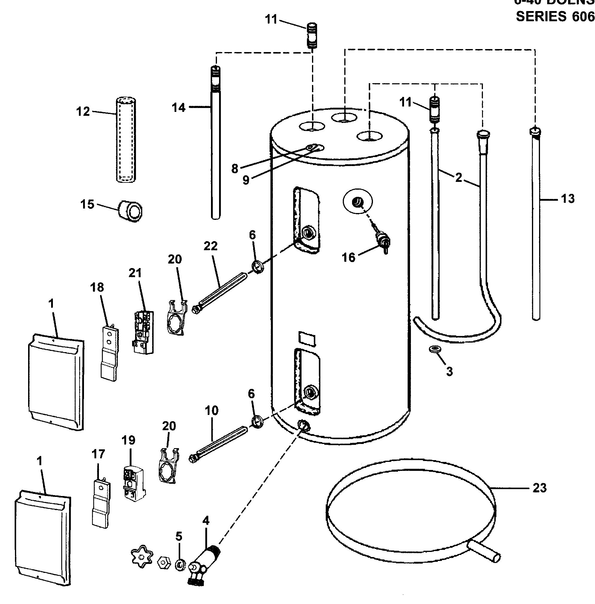 Wiring Diagram Electric Water Heater New Electric Water Heater Parts Diagram