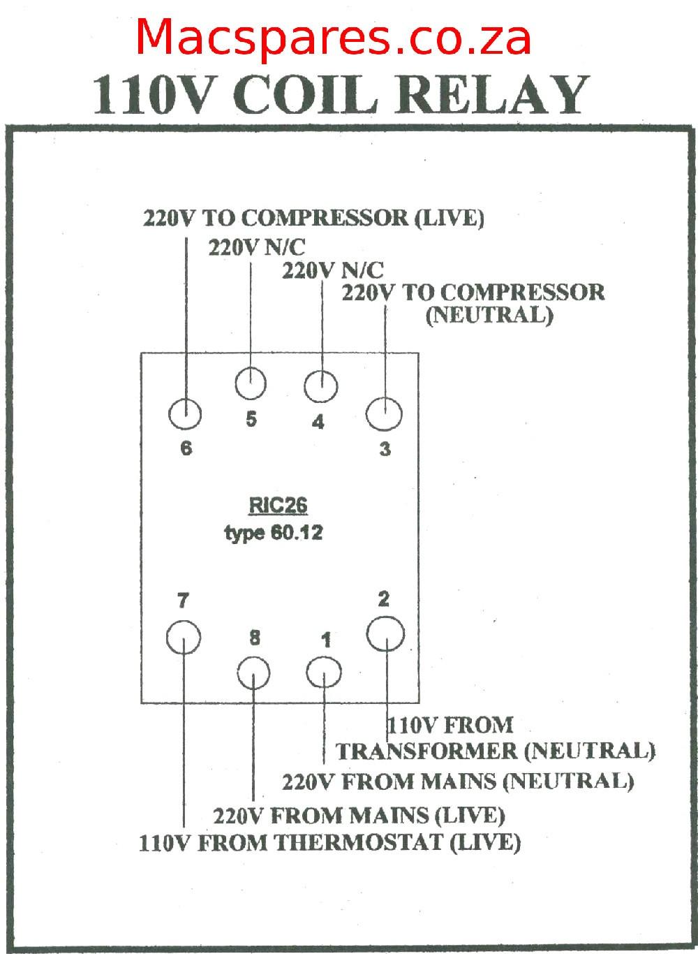 Embraco pressor Wiring Diagram