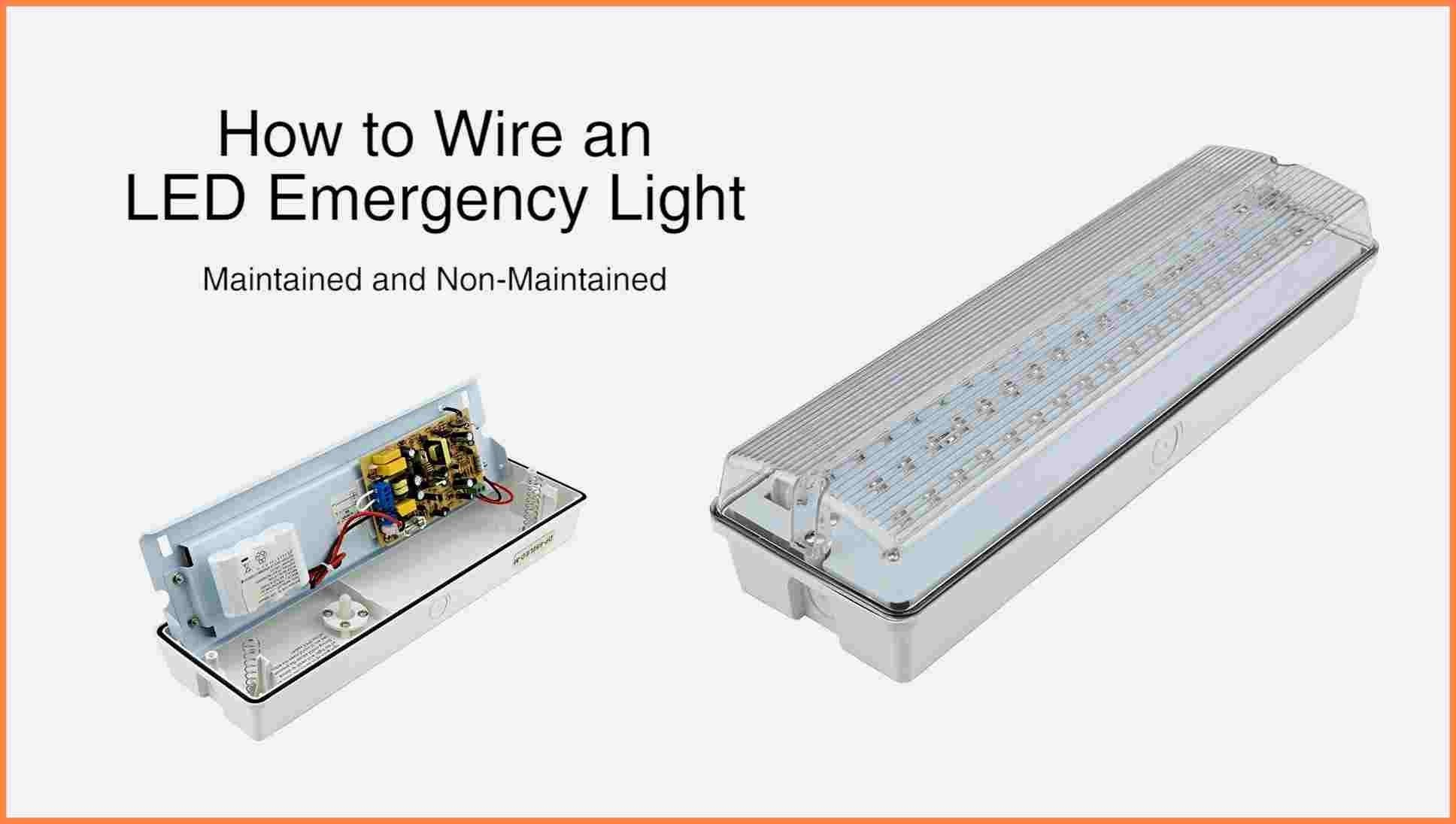 Emergency Exit Lights Wiring Diagram New Exit Lighting Wiring Diagram Valid Emergency Light Wiring Diagram 6