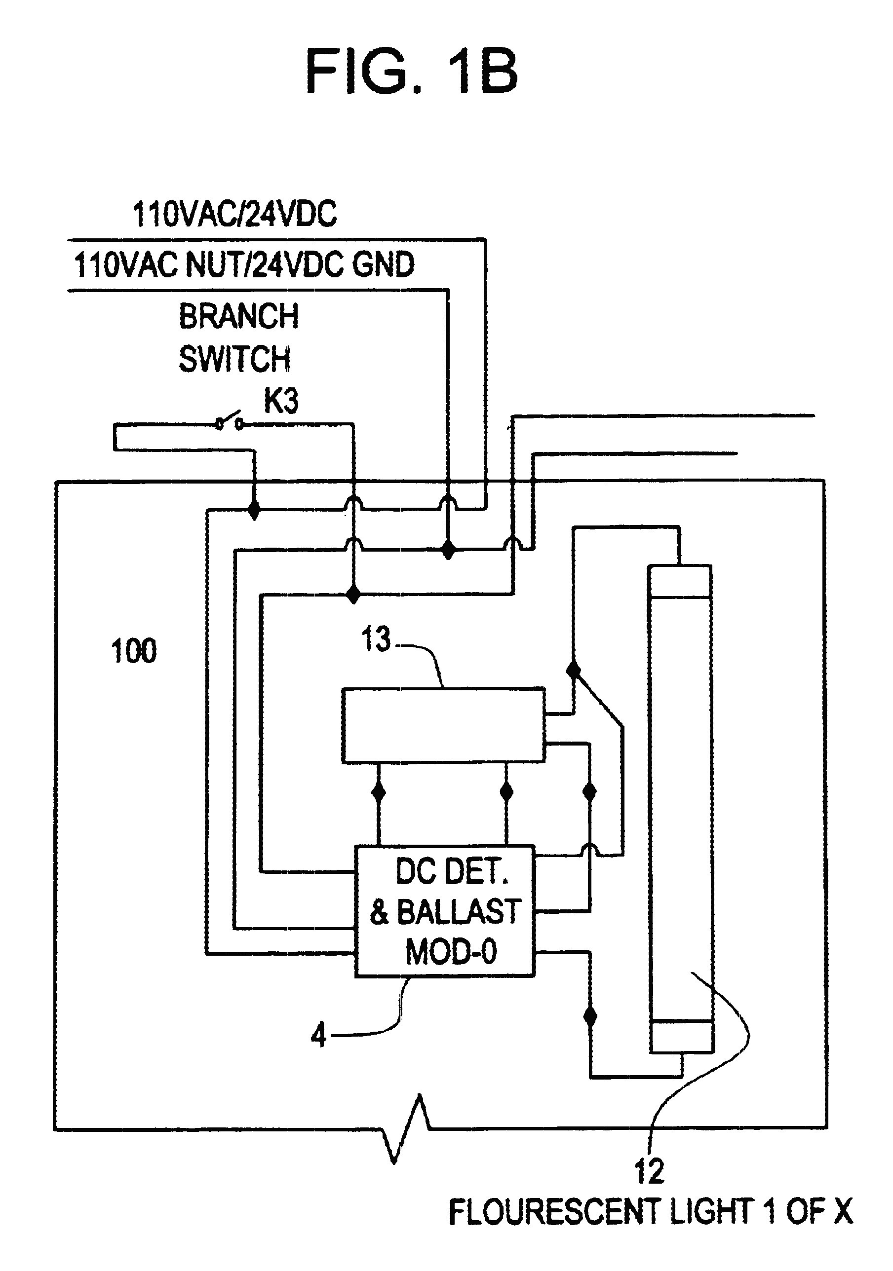 Emergency Exit Lights Wiring Diagram Best Patent Us Central Battery Emergency Lighting System Best And